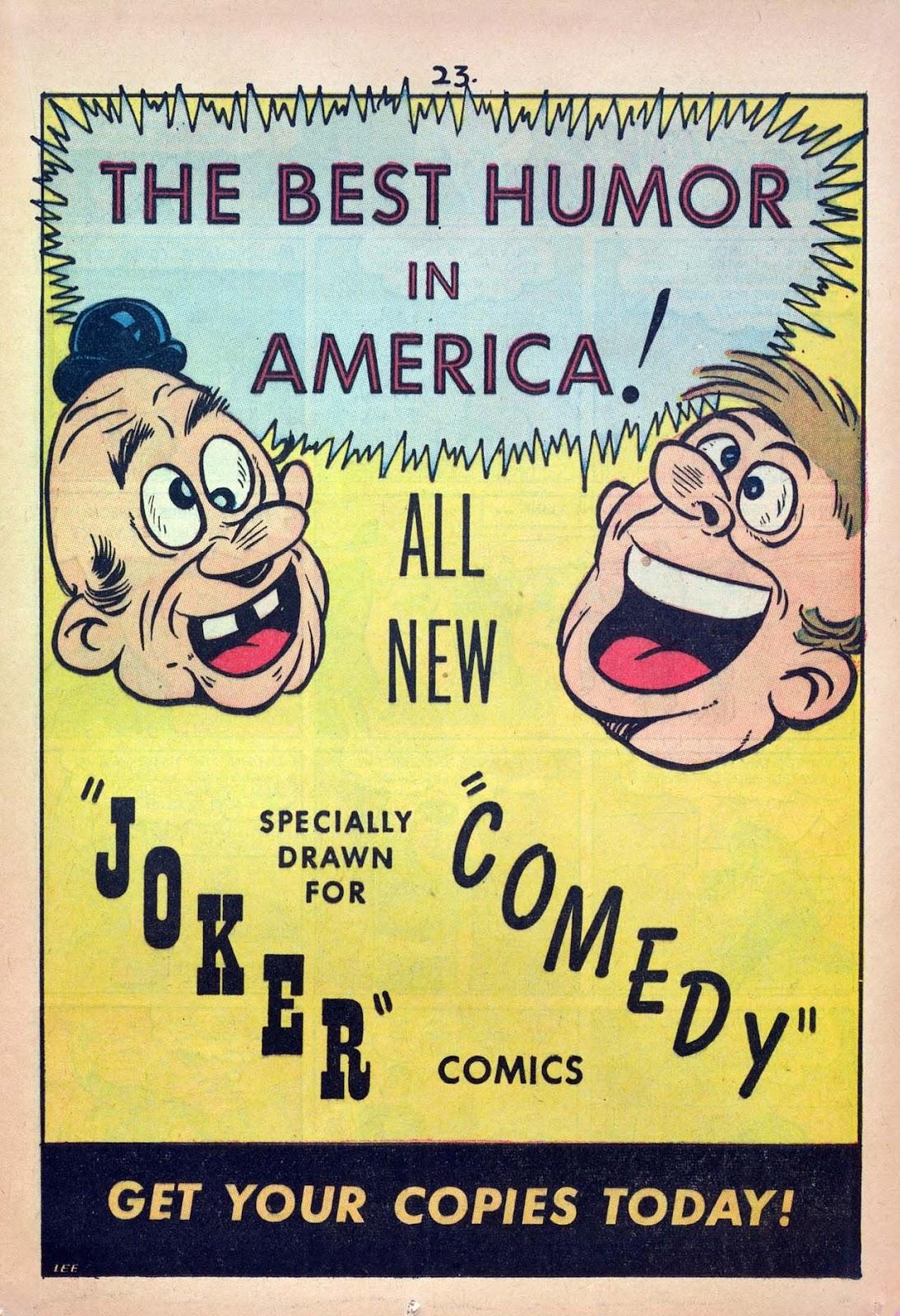 Read online Joker Comics comic -  Issue #2 - 25