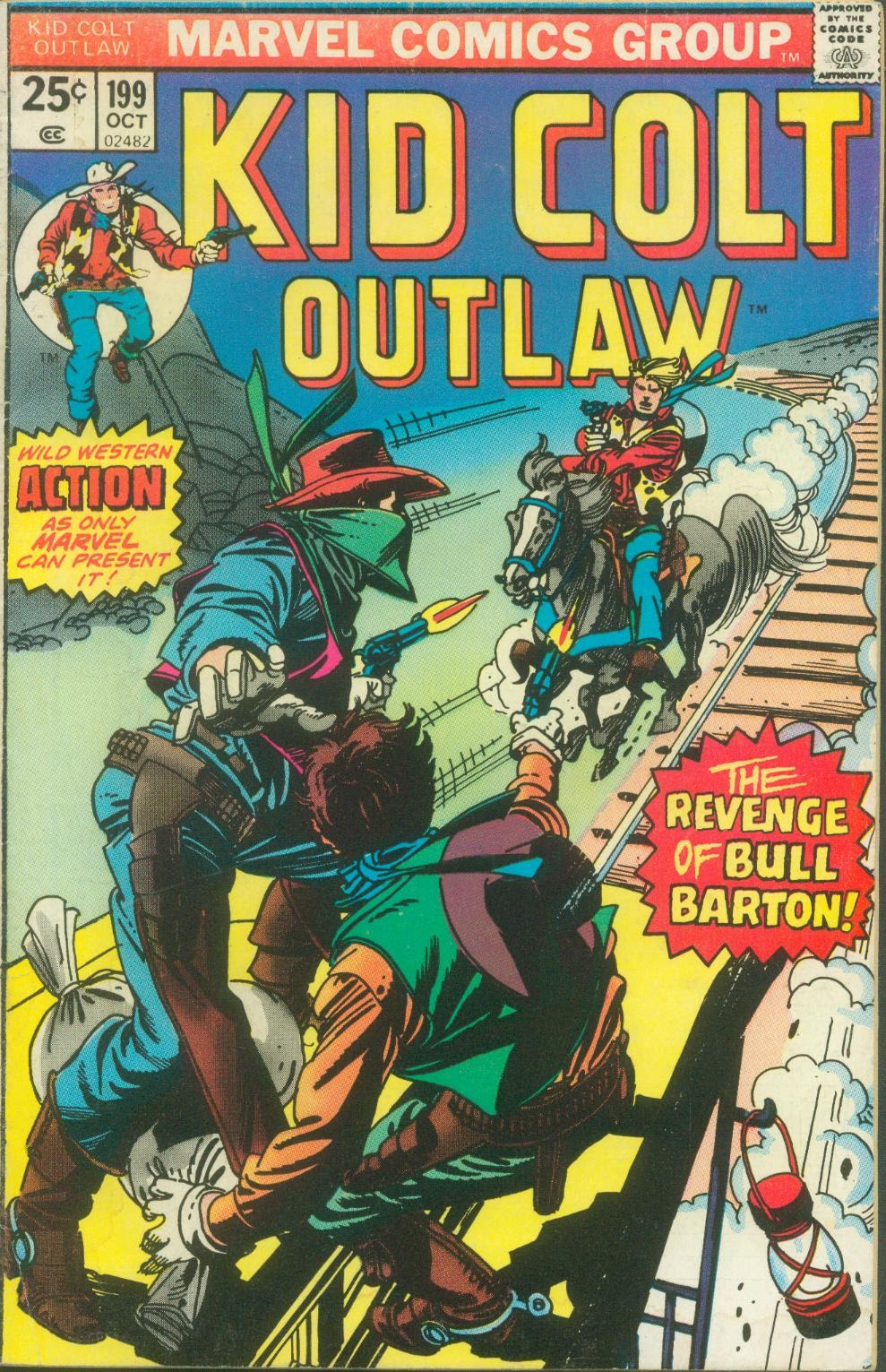Kid Colt Outlaw issue 199 - Page 1
