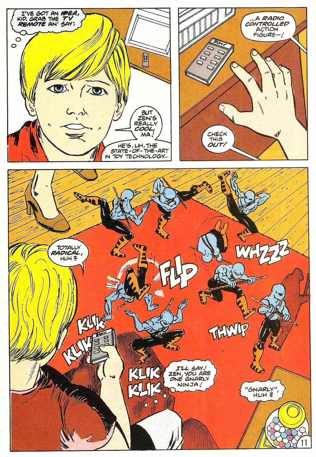 Read online Zen Intergalactic Ninja (1992) comic -  Issue #2 - 11
