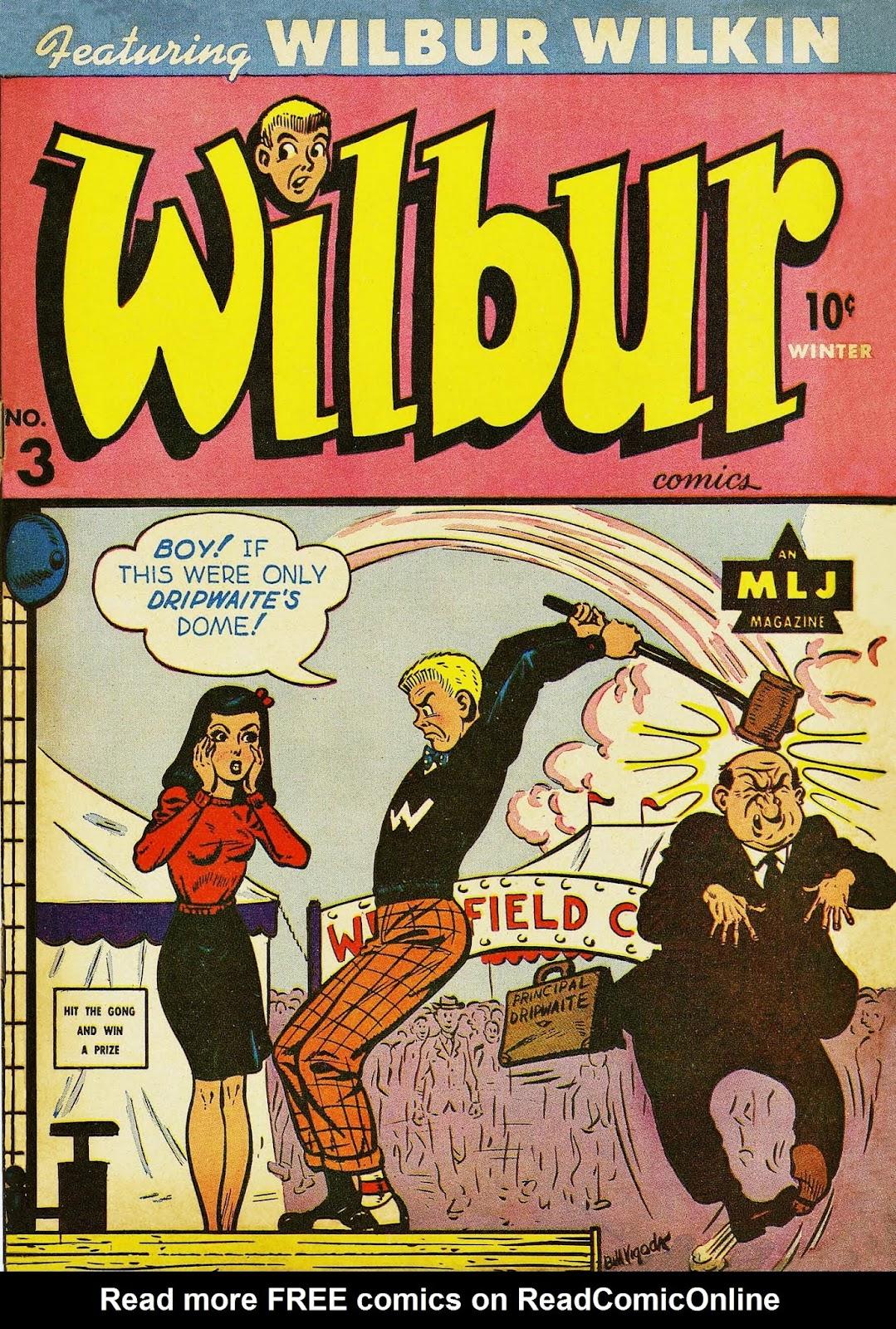Wilbur Comics 3 Page 1
