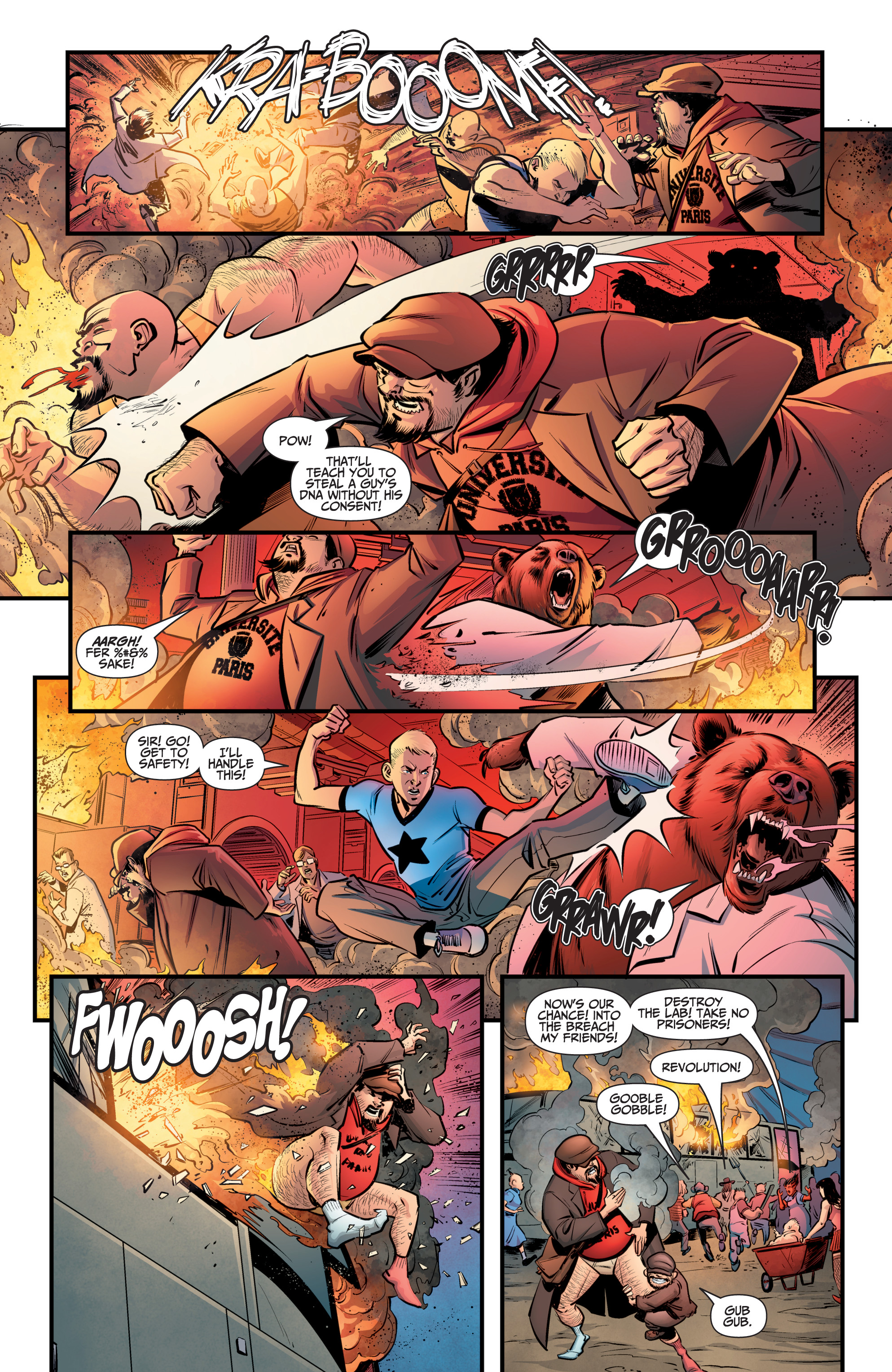 Read online A&A: The Adventures of Archer & Armstrong comic -  Issue #8 - 10