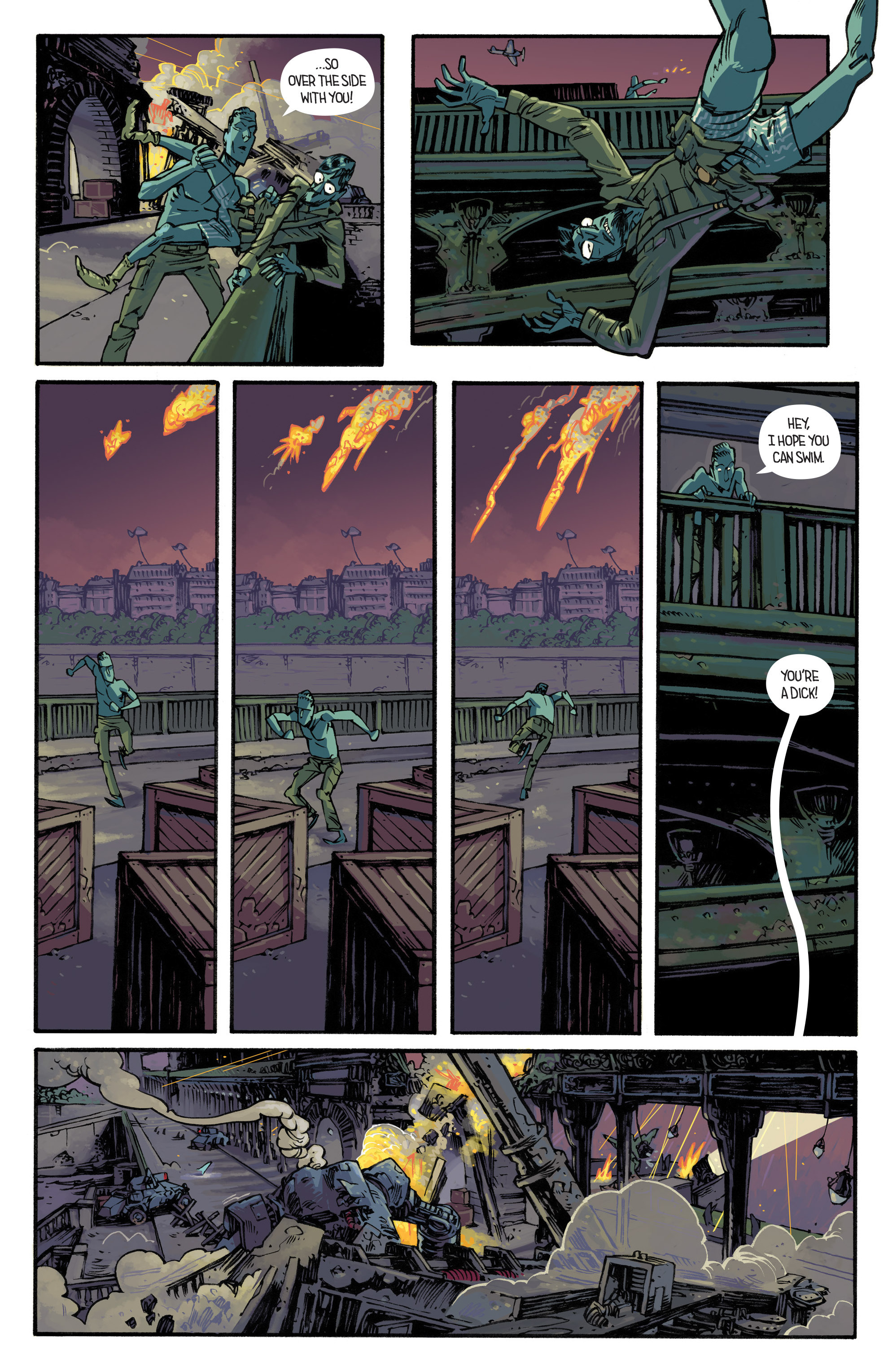 Read online Airboy comic -  Issue #4 - 16