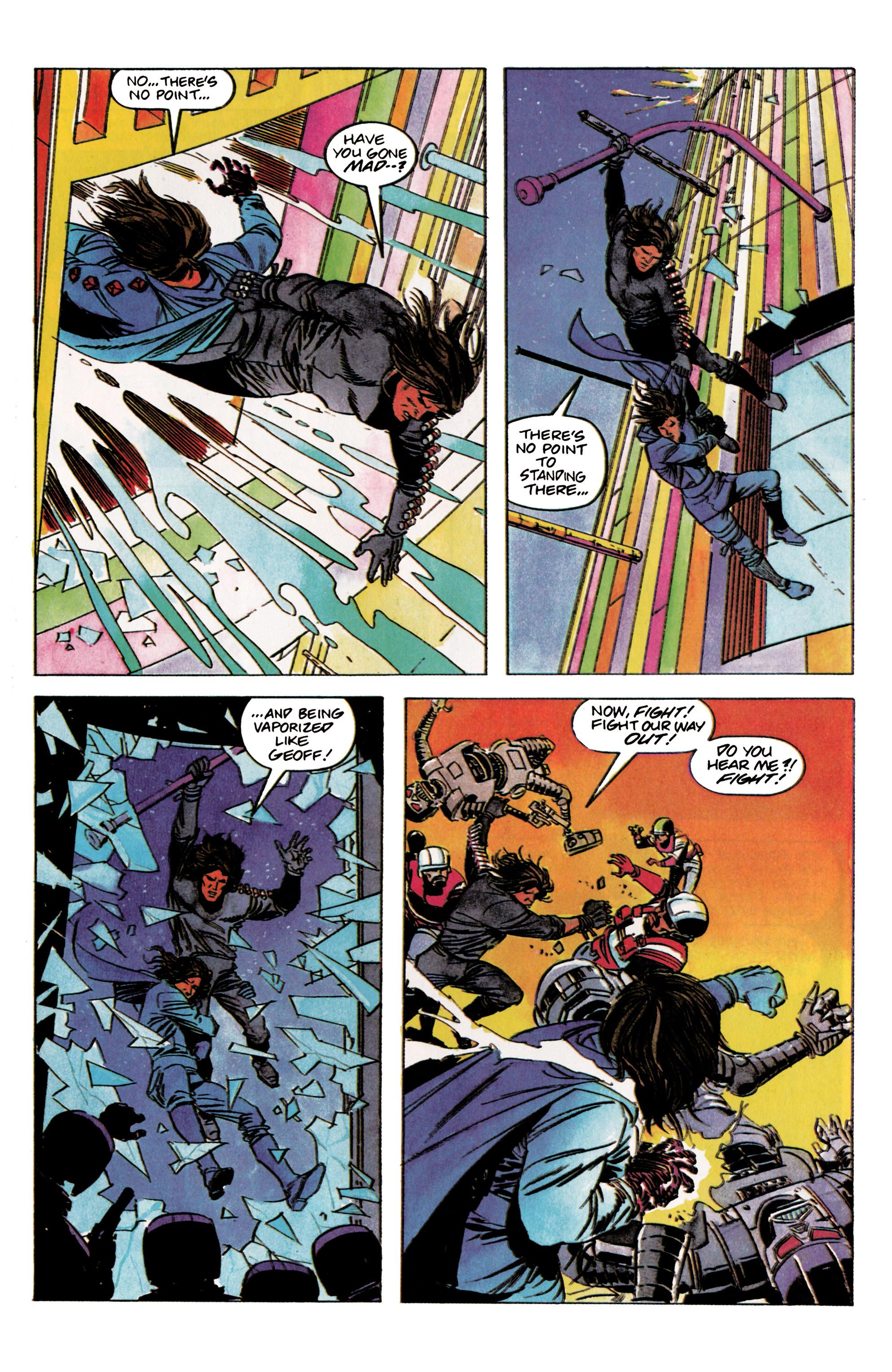 Read online Eternal Warrior (1992) comic -  Issue #2 - 22