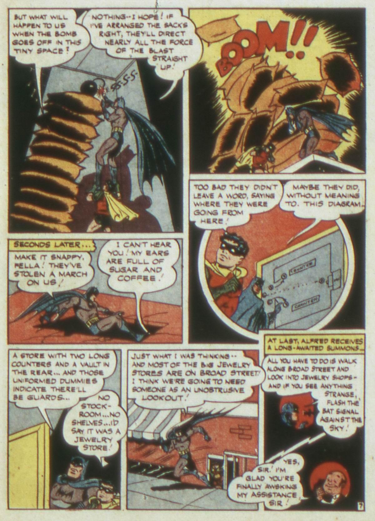 Read online Detective Comics (1937) comic -  Issue #82 - 9