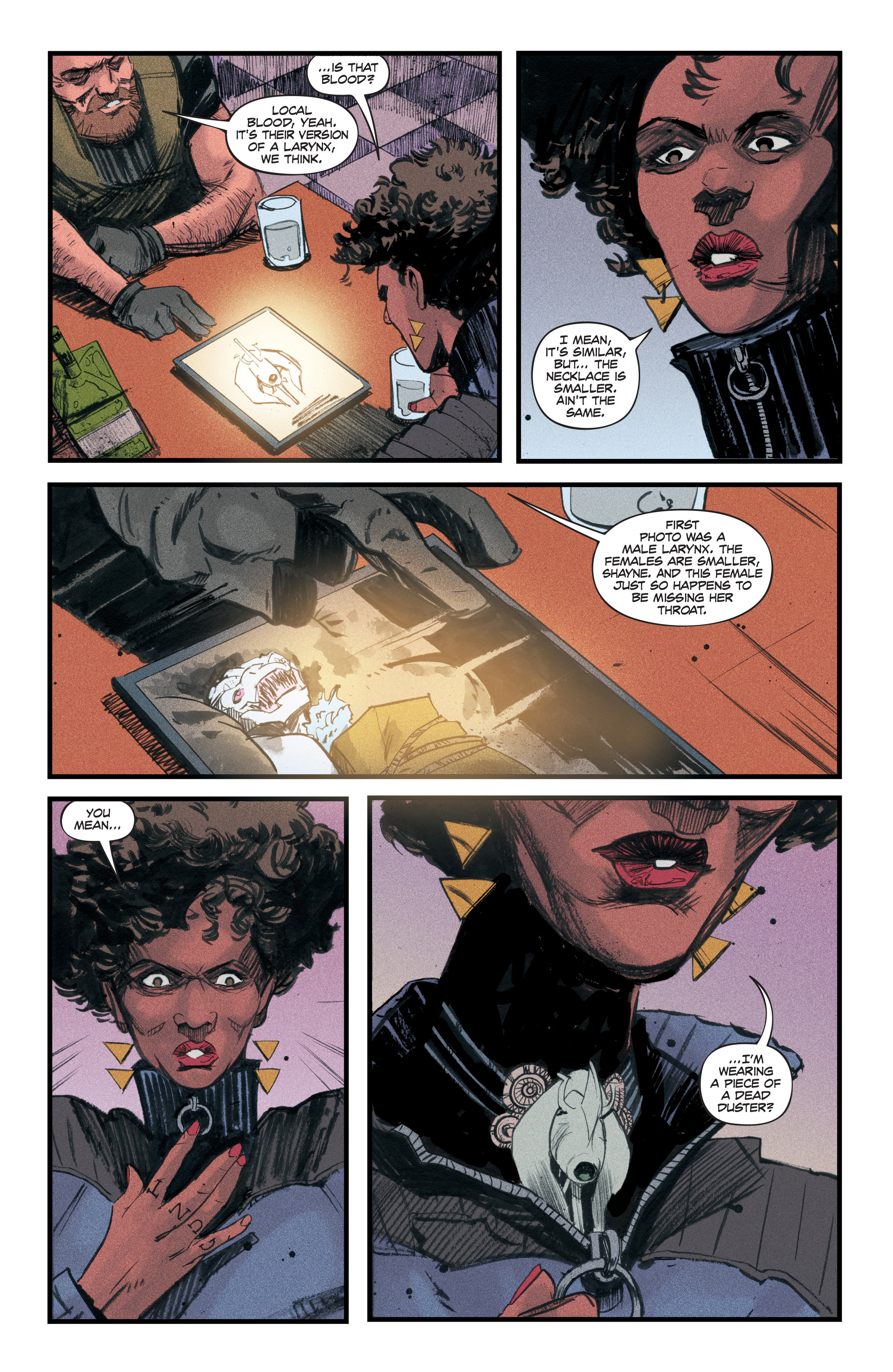 Read online Redline comic -  Issue #3 - 21