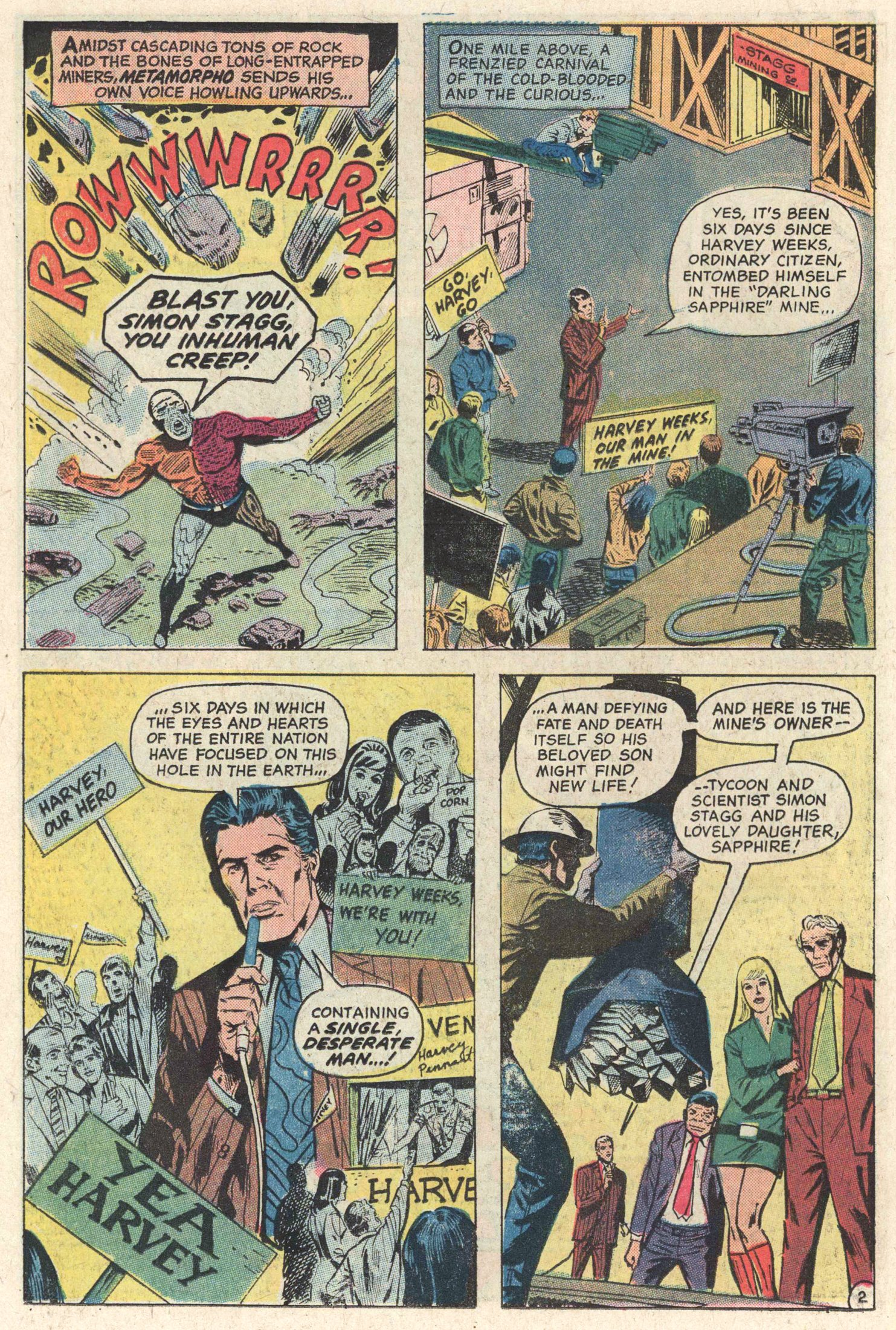 Read online Action Comics (1938) comic -  Issue #415 - 21