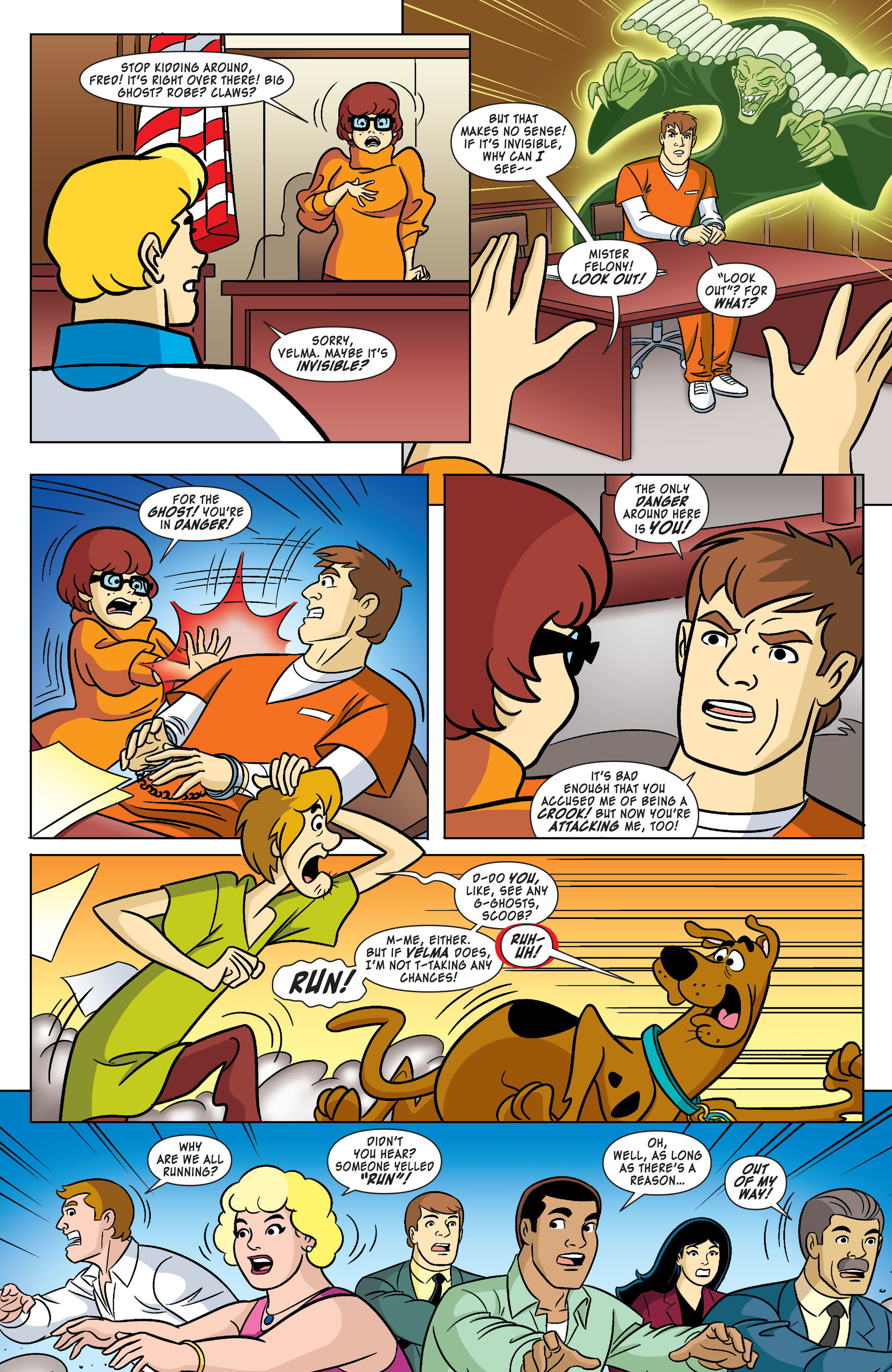 Read online Scooby-Doo: Where Are You? comic -  Issue #61 - 4