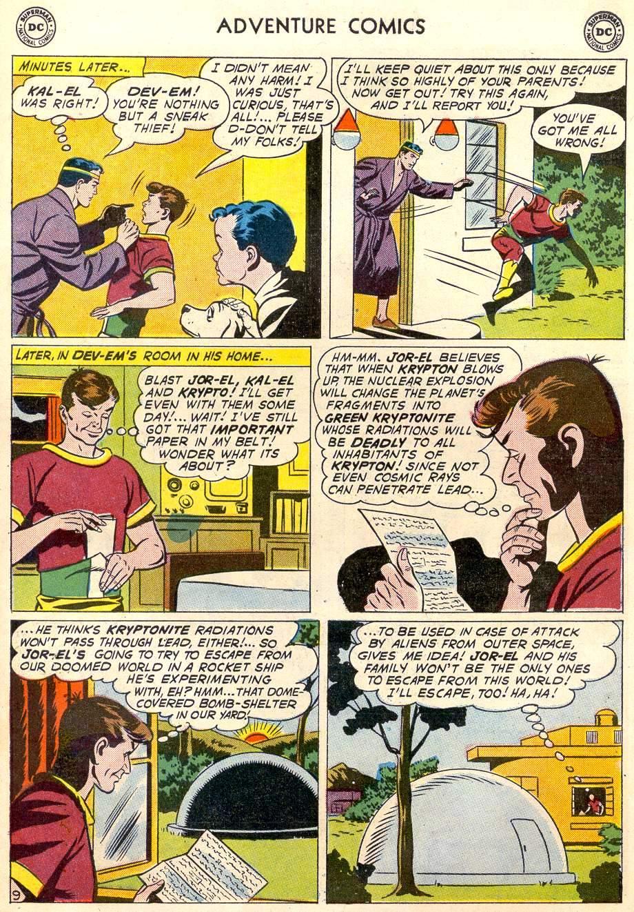 Read online Adventure Comics (1938) comic -  Issue #287 - 11
