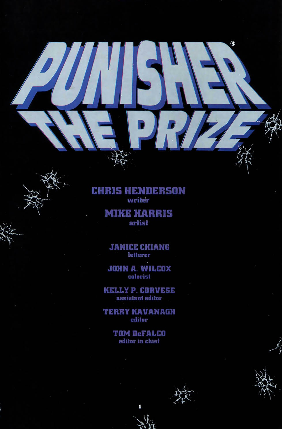 Read online Punisher: The Prize comic -  Issue # Full - 3