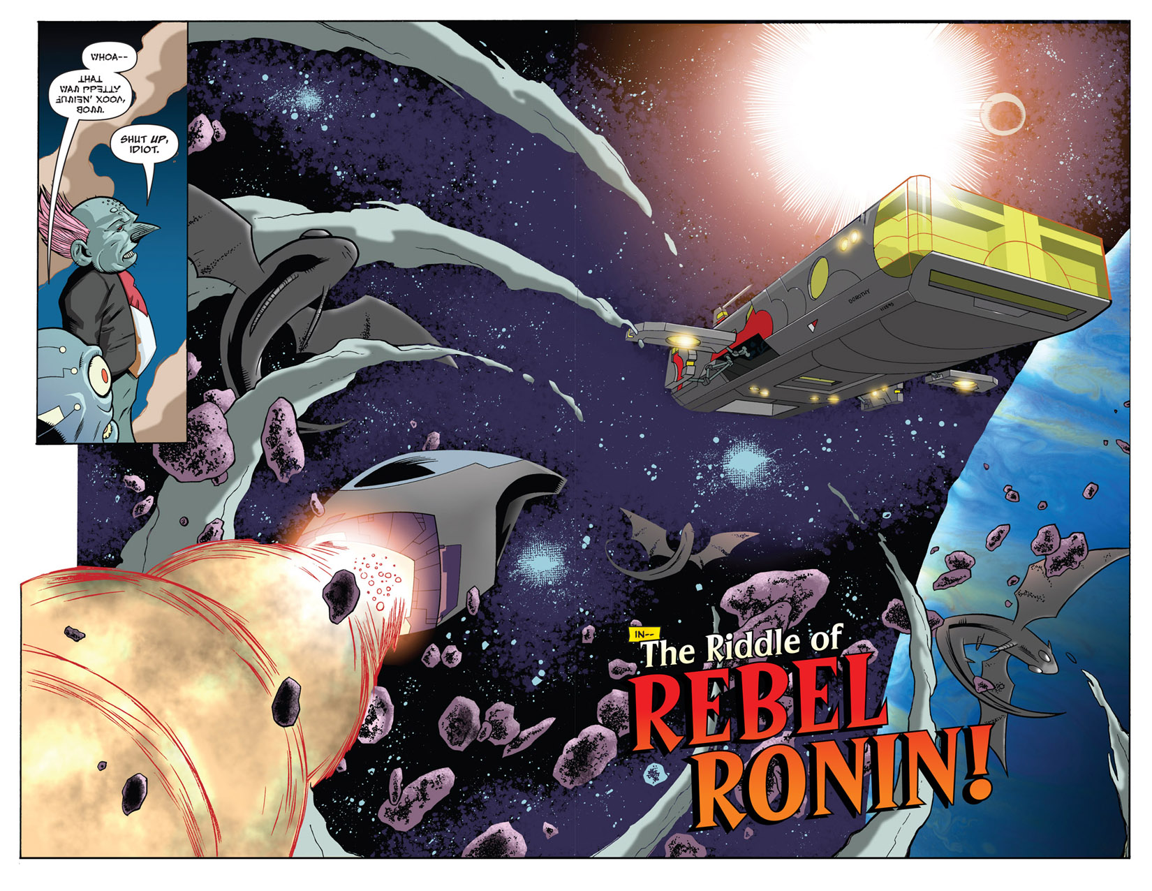 Read online The Many Adventures of Miranda Mercury: Time Runs Out comic -  Issue # TPB - 23