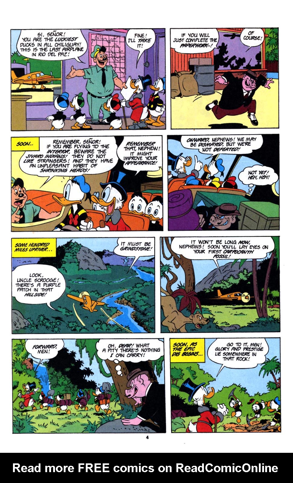 Read online Uncle Scrooge (1953) comic -  Issue #243 - 20
