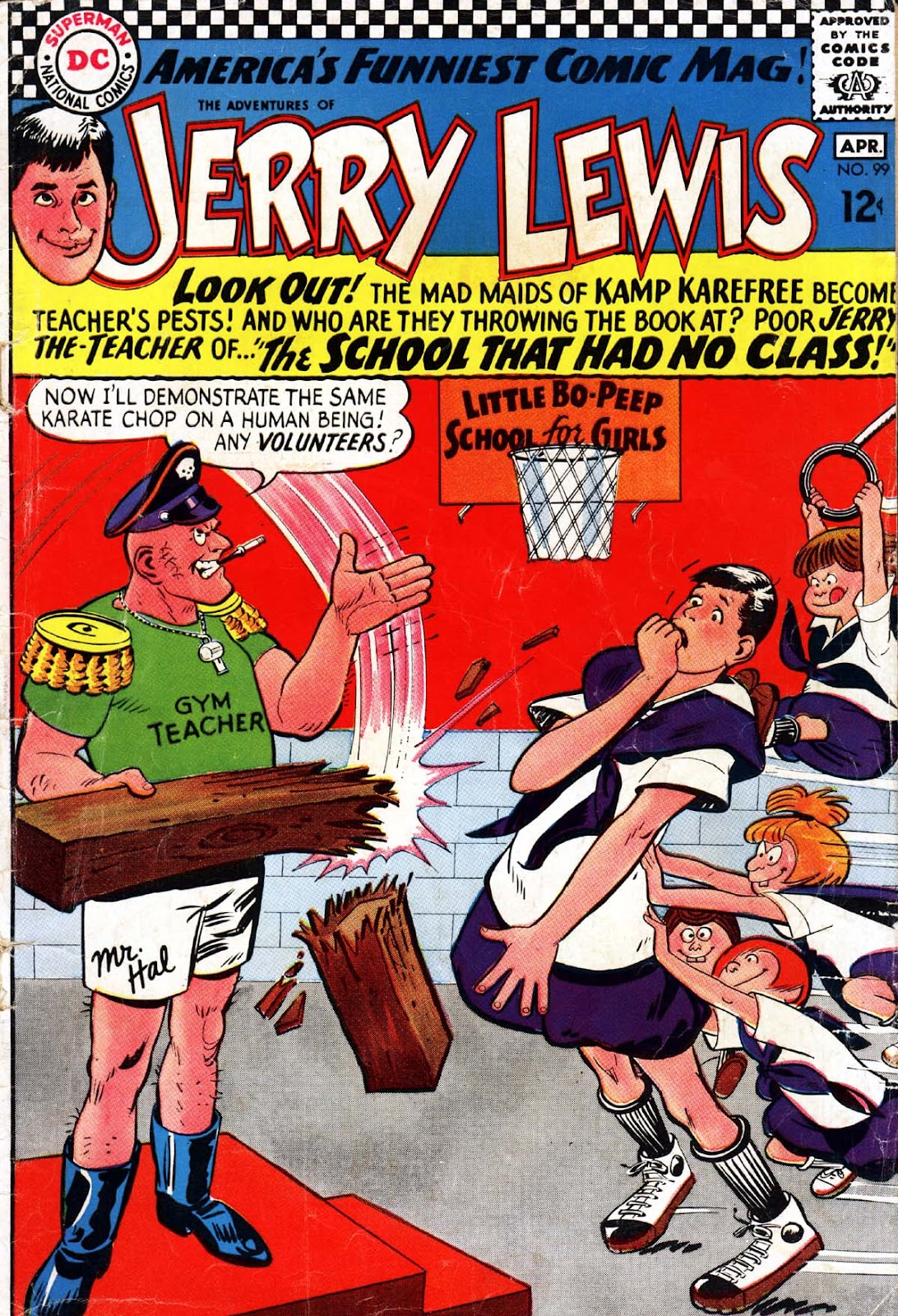 The Adventures of Jerry Lewis 99 Page 1