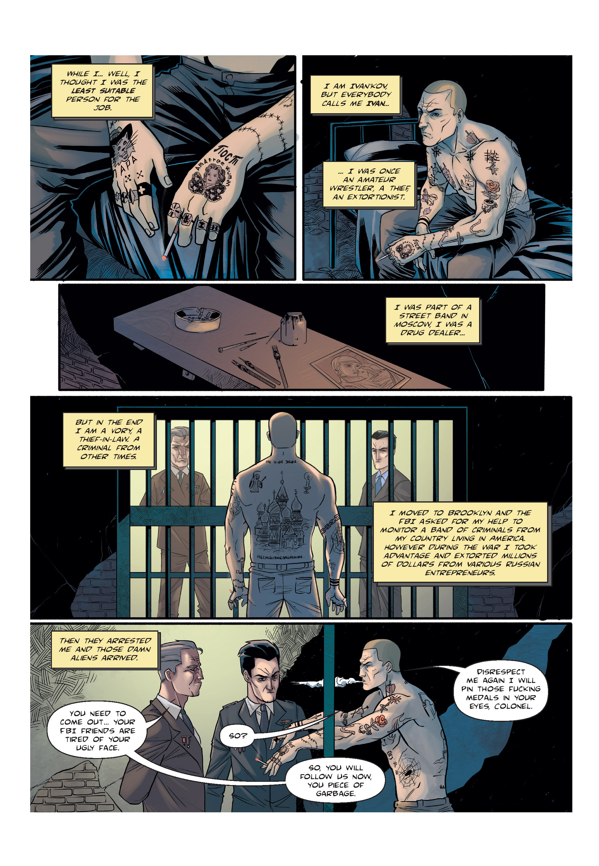 Read online The Shadow of a Terrible Thing comic -  Issue # TPB - 12