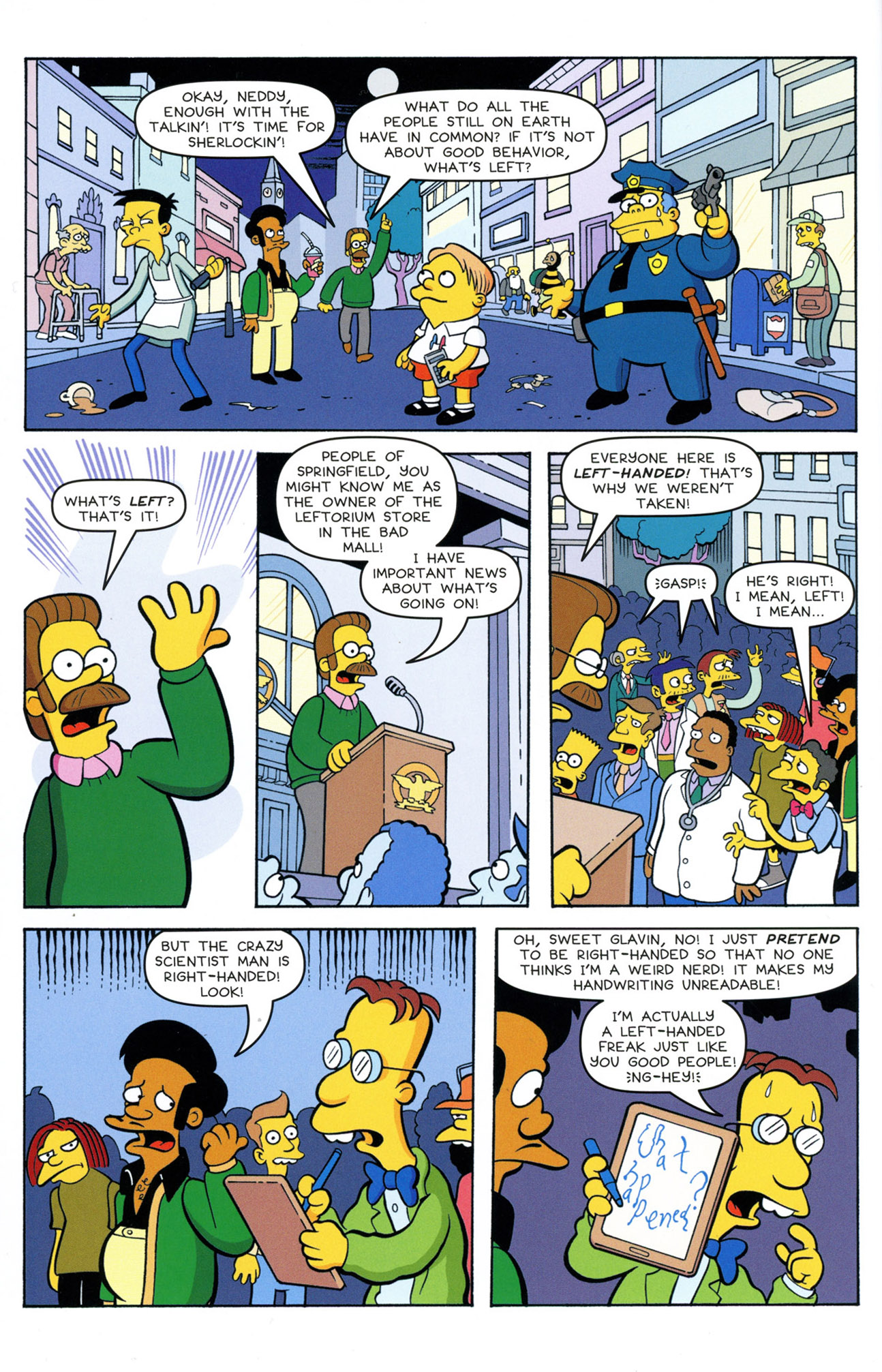 Read online Treehouse of Horror comic -  Issue #21 - 20