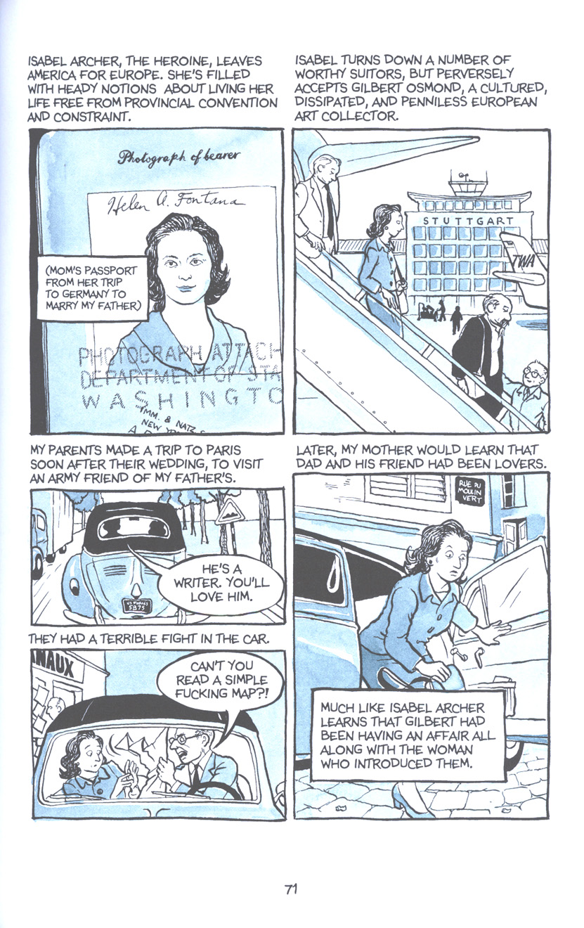 Read online Fun Home: A Family Tragicomic comic -  Issue # TPB - 78