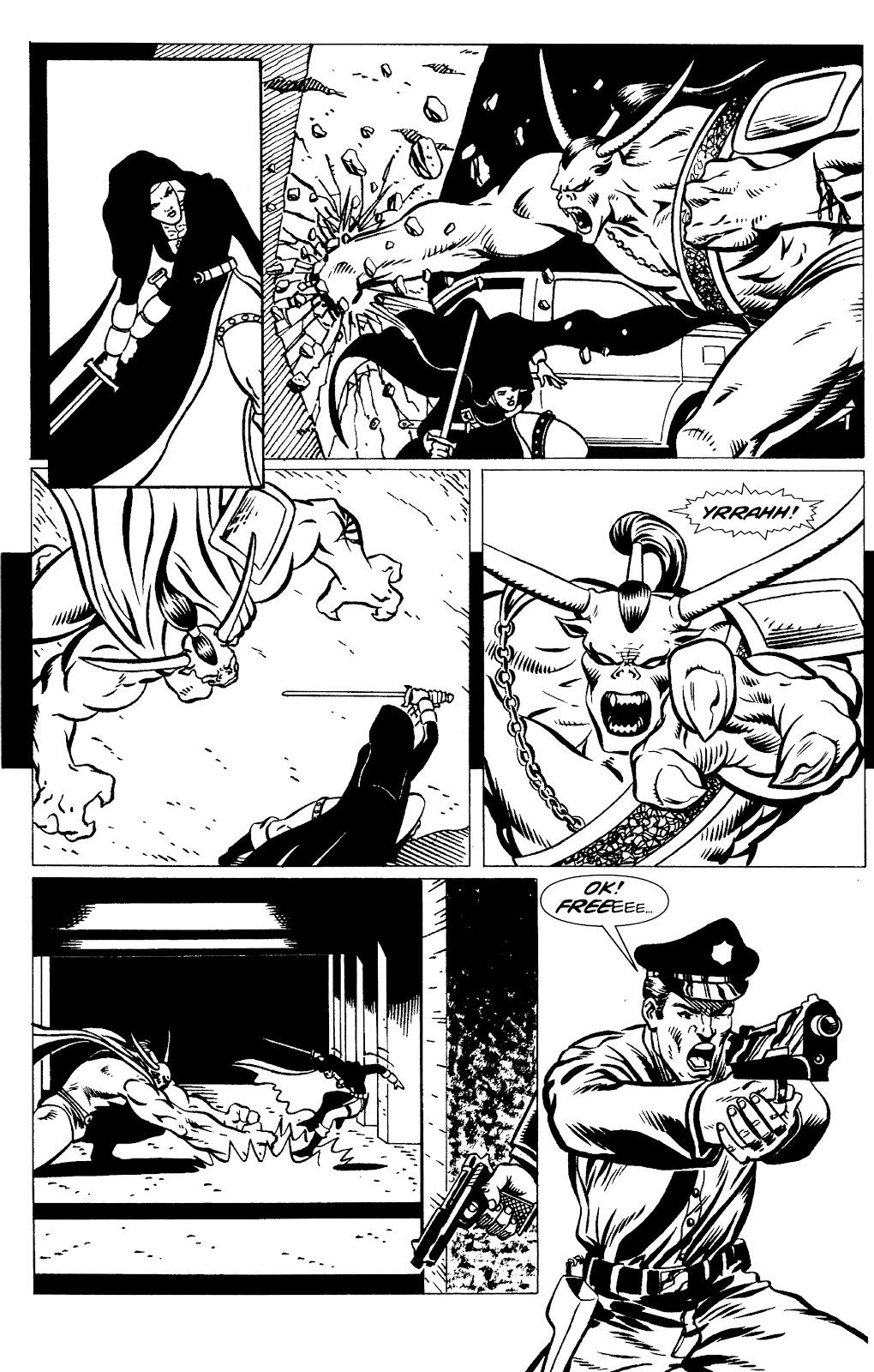Warrior Nun Areala:  Dangerous Game Issue #1 #1 - English 20