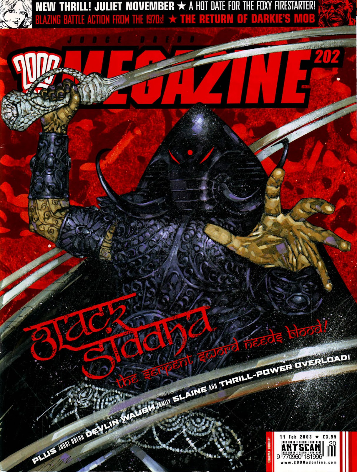 Judge Dredd Megazine (Vol. 5) issue 202 - Page 1