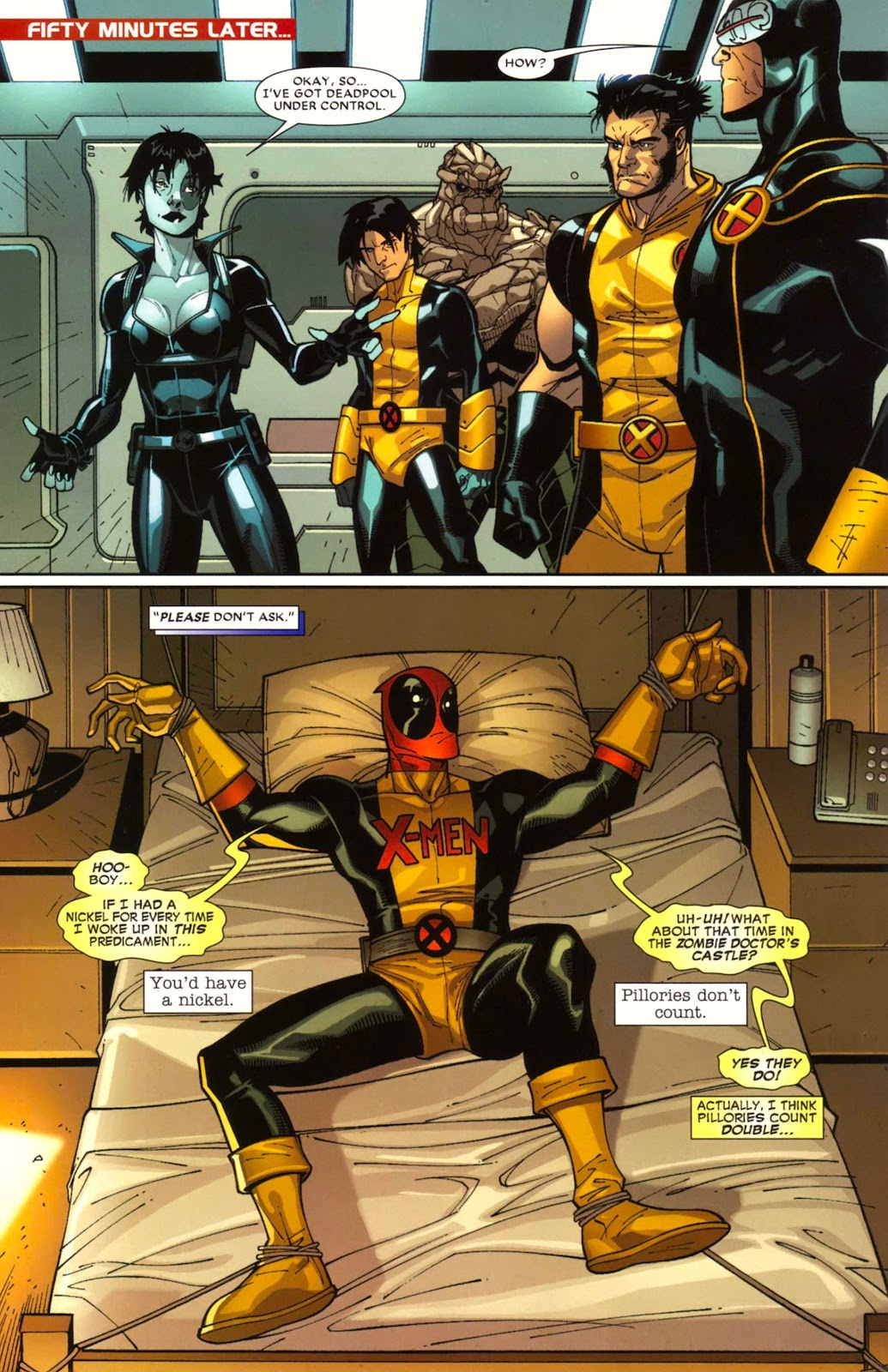 Read online Deadpool (2008) comic -  Issue #17 - 12