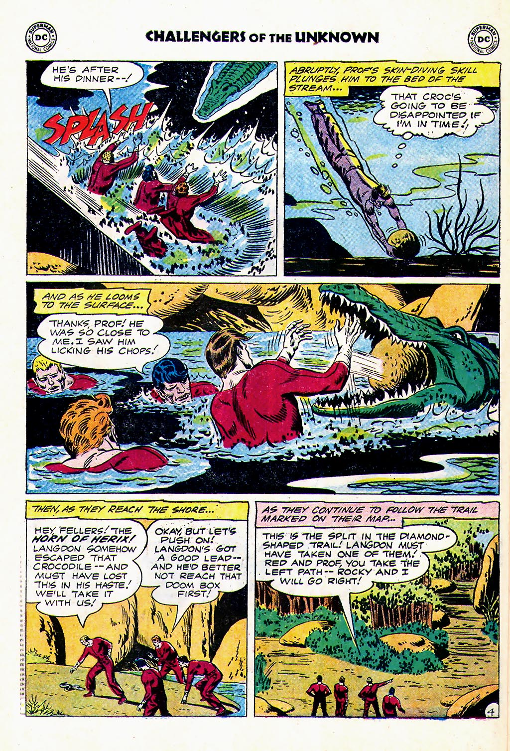 Challengers of the Unknown (1958) issue 23 - Page 6