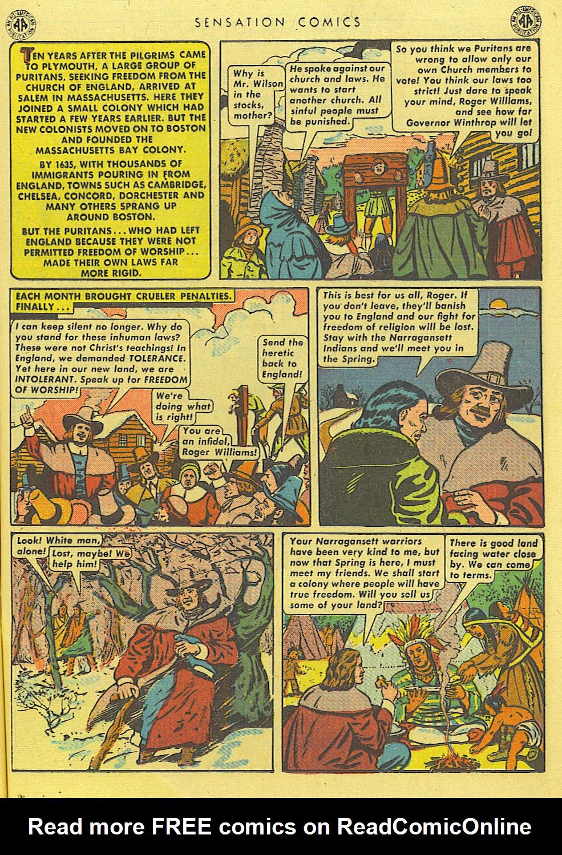 Read online Sensation (Mystery) Comics comic -  Issue #39 - 19