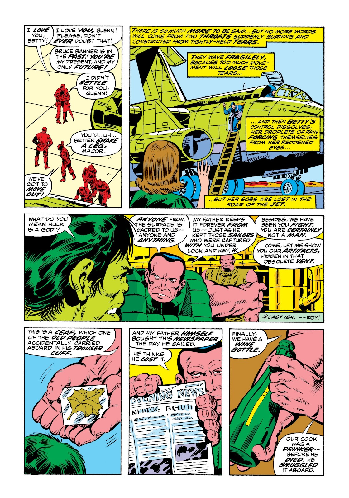 Read online Marvel Masterworks: The Incredible Hulk comic -  Issue # TPB 9 (Part 2) - 84