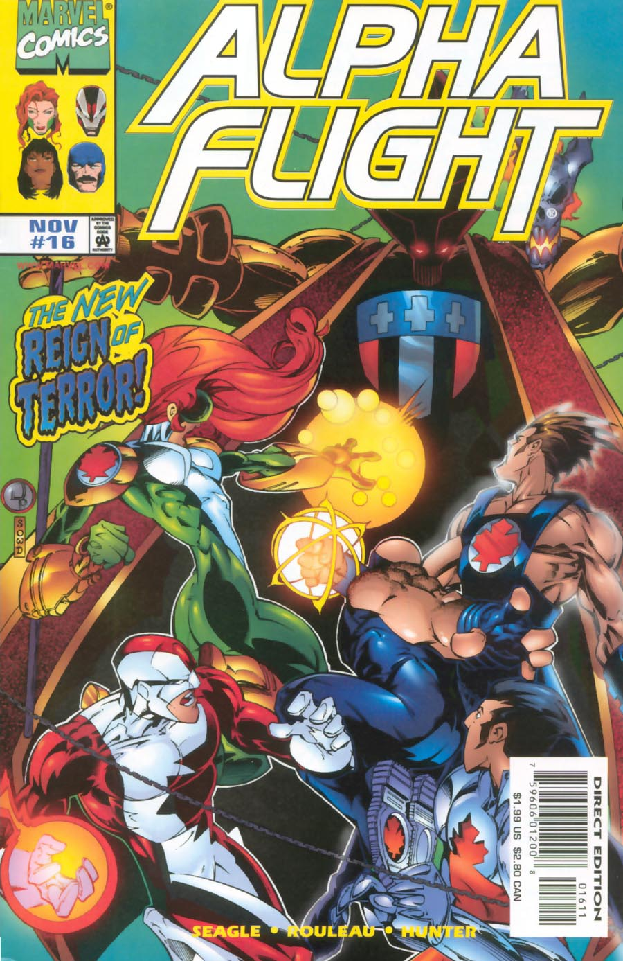 Read online Alpha Flight (1997) comic -  Issue #16 - 1