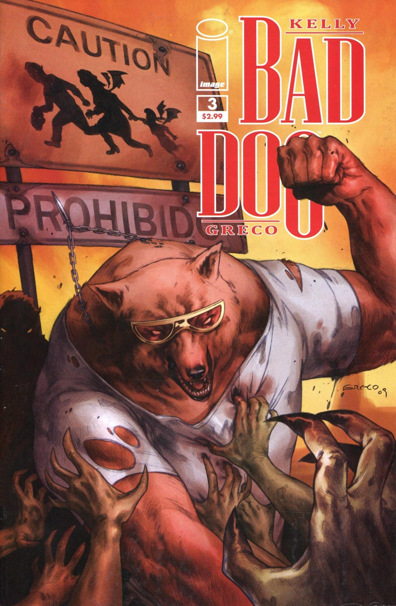 Bad Dog 3 Page 1