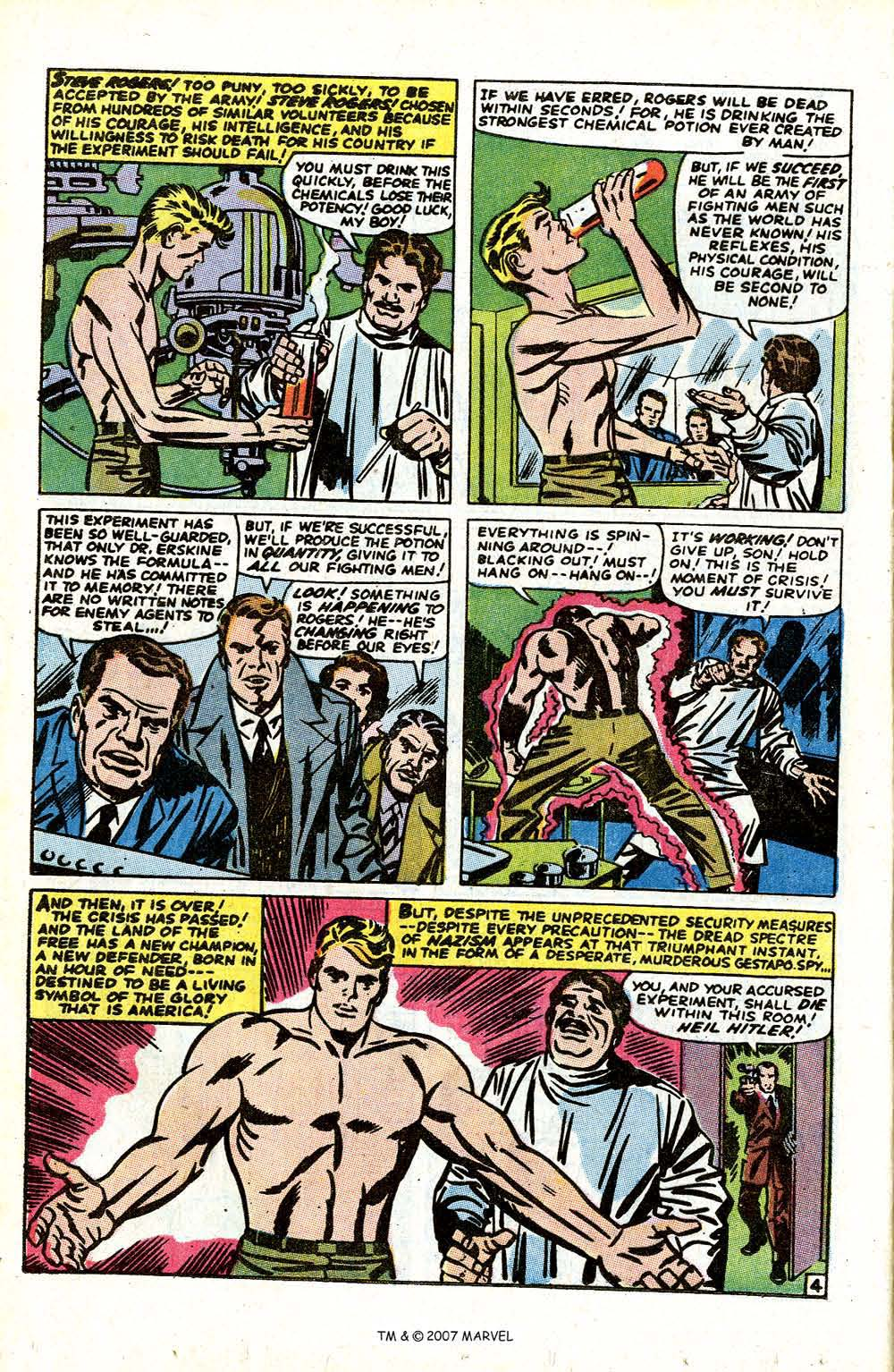 Read online Captain America (1968) comic -  Issue # _Annual 1 - 6