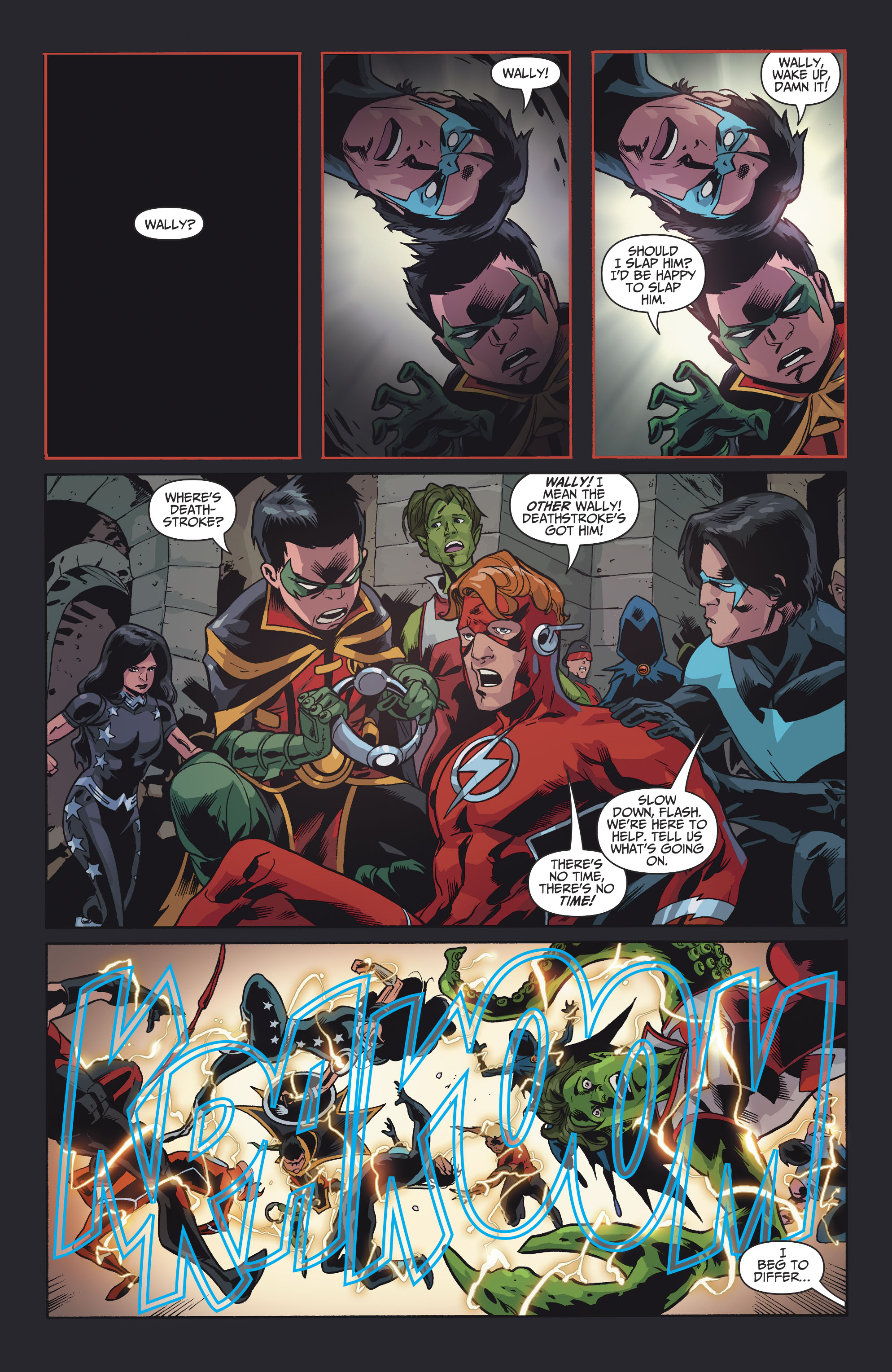 Read online Teen Titans (2016) comic -  Issue #8 - 21