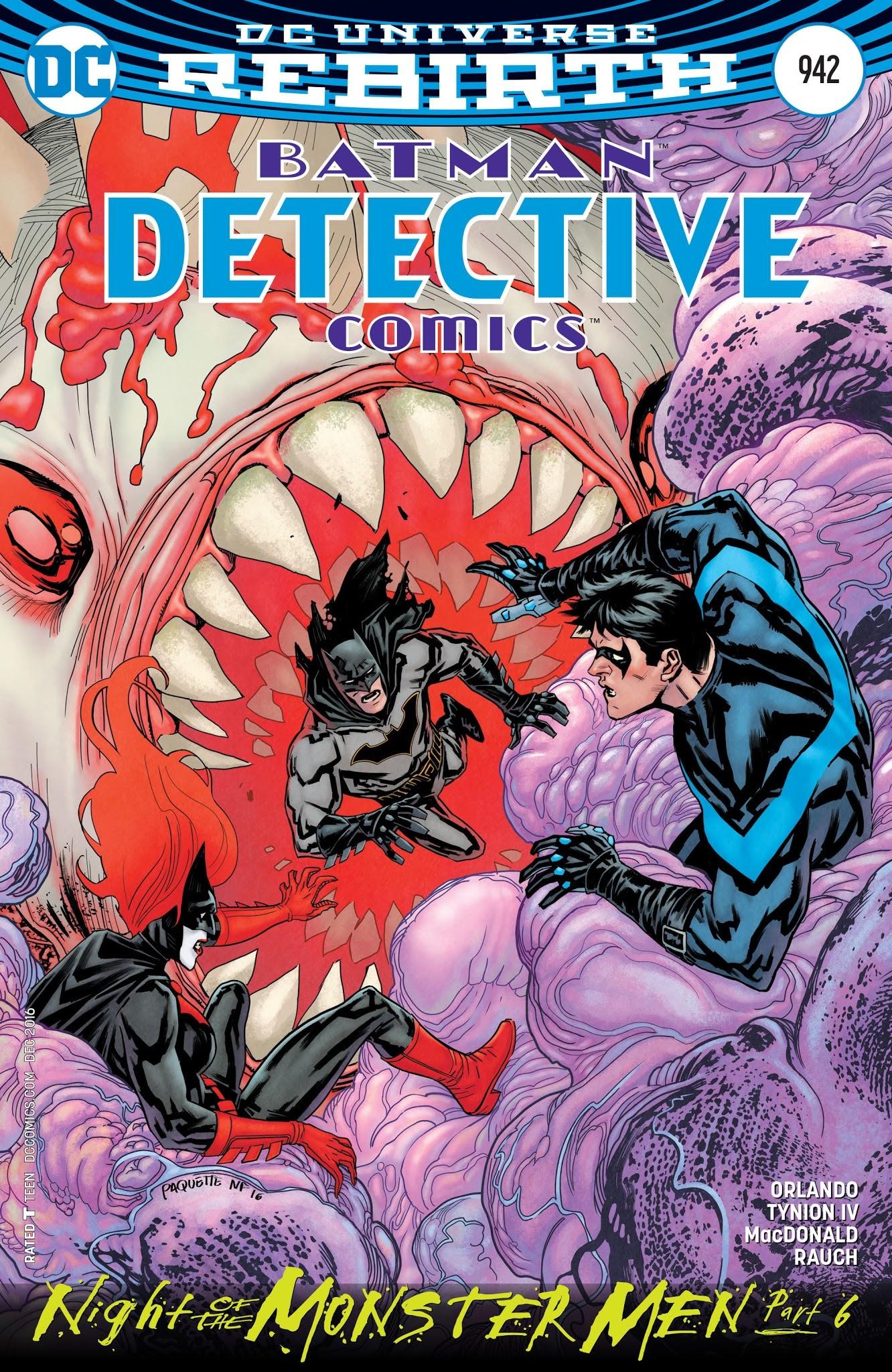 Detective Comics (1937) 942 Page 1