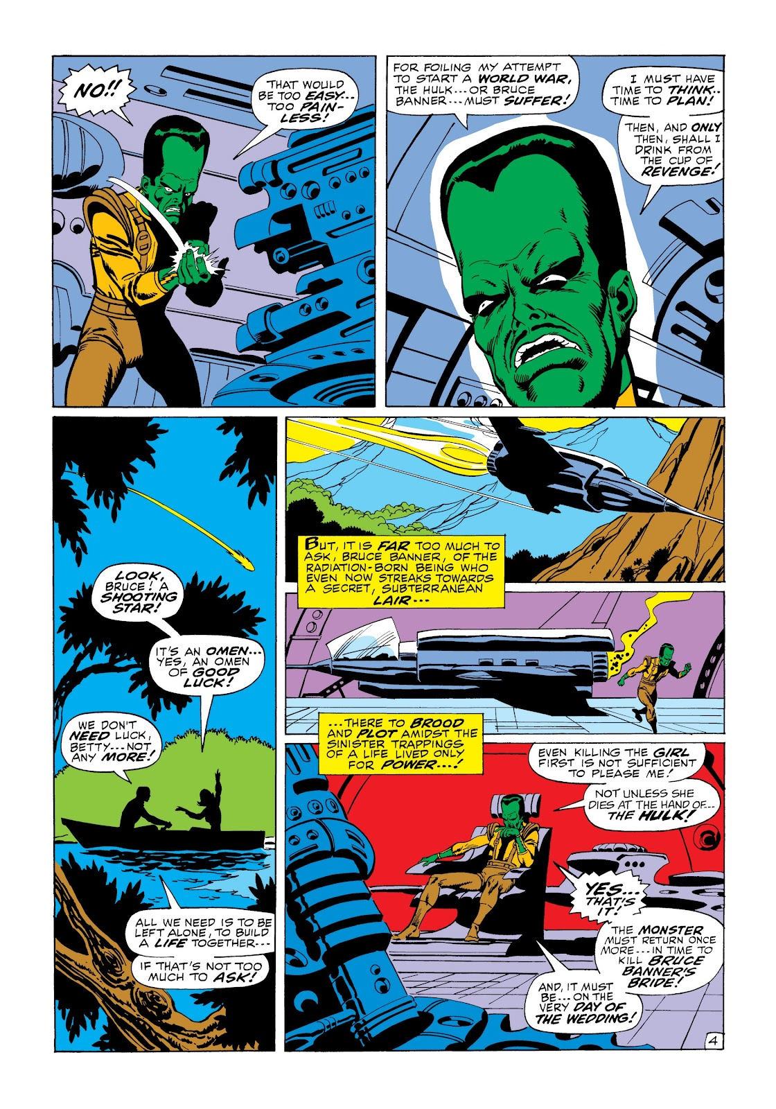 Read online Marvel Masterworks: The Incredible Hulk comic -  Issue # TPB 6 (Part 1) - 55
