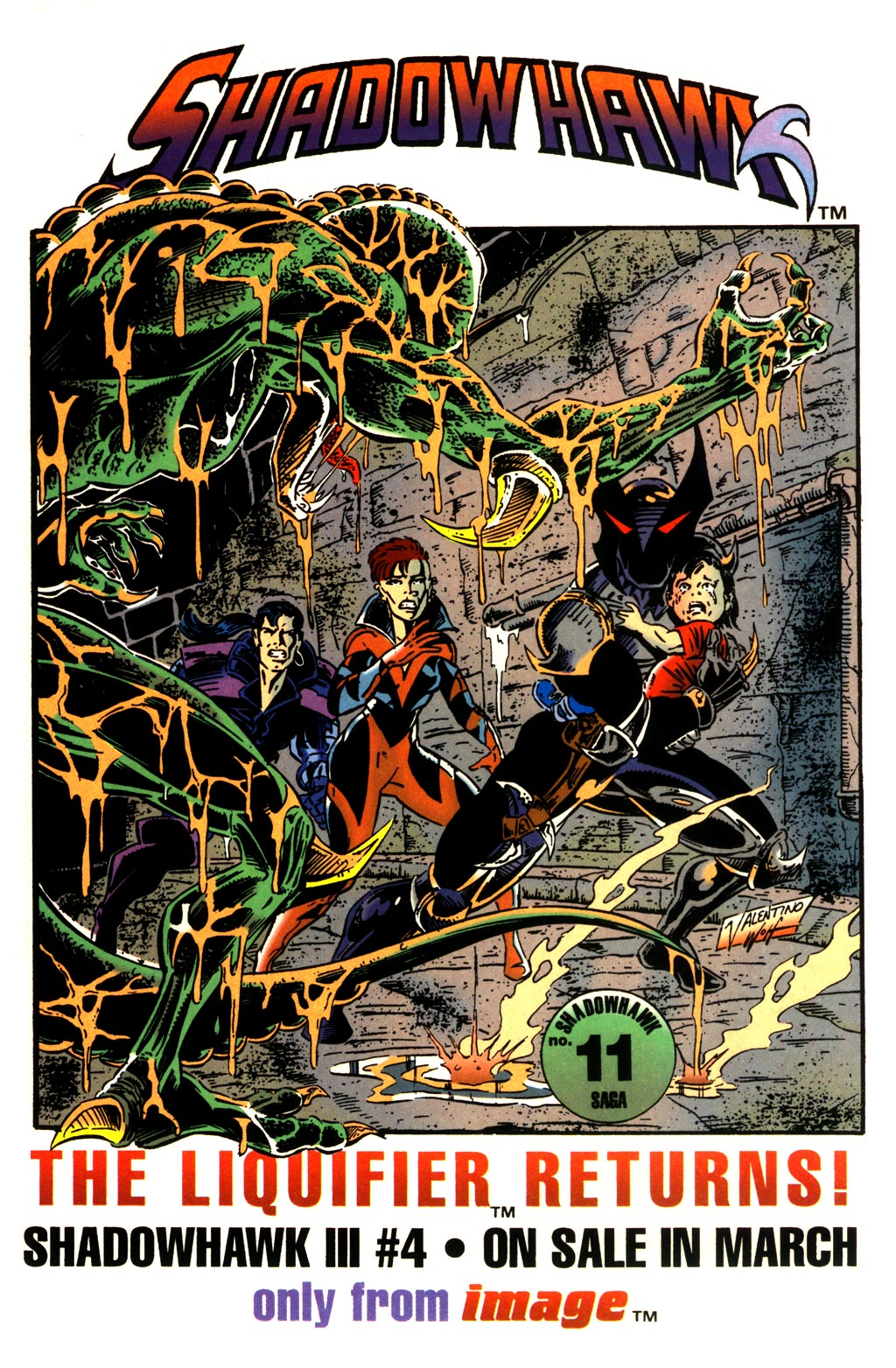 Read online ShadowHawk comic -  Issue #10 - 28