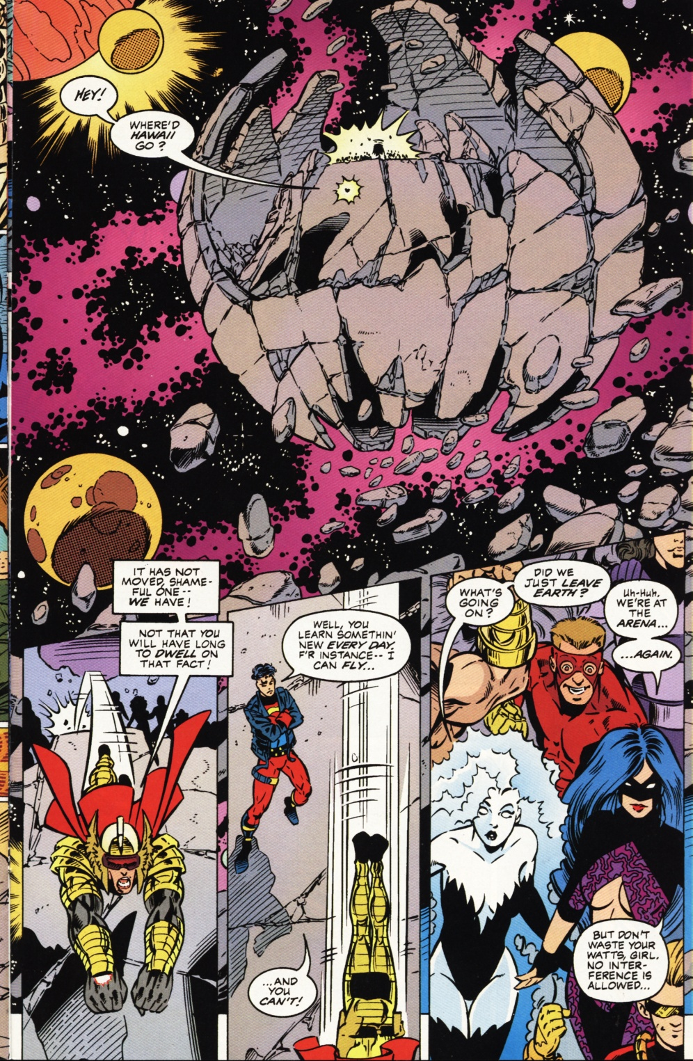 Read online Superboy & The Ravers comic -  Issue #1 - 20
