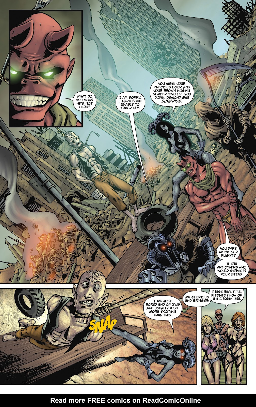 Army of Darkness: The Long Road Home issue TPB - Page 71