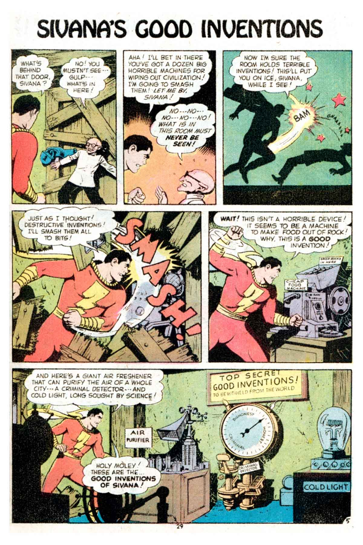 Read online Shazam! (1973) comic -  Issue #15 - 29