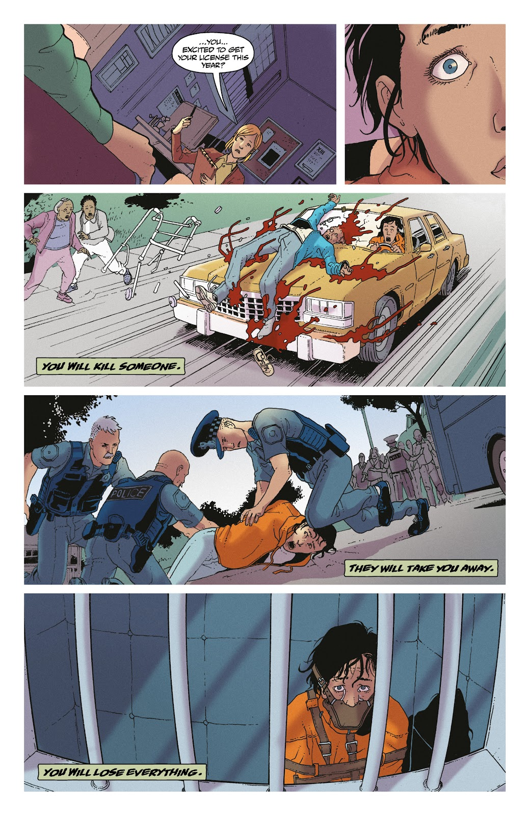Read online She Could Fly comic -  Issue # _TPB - 11