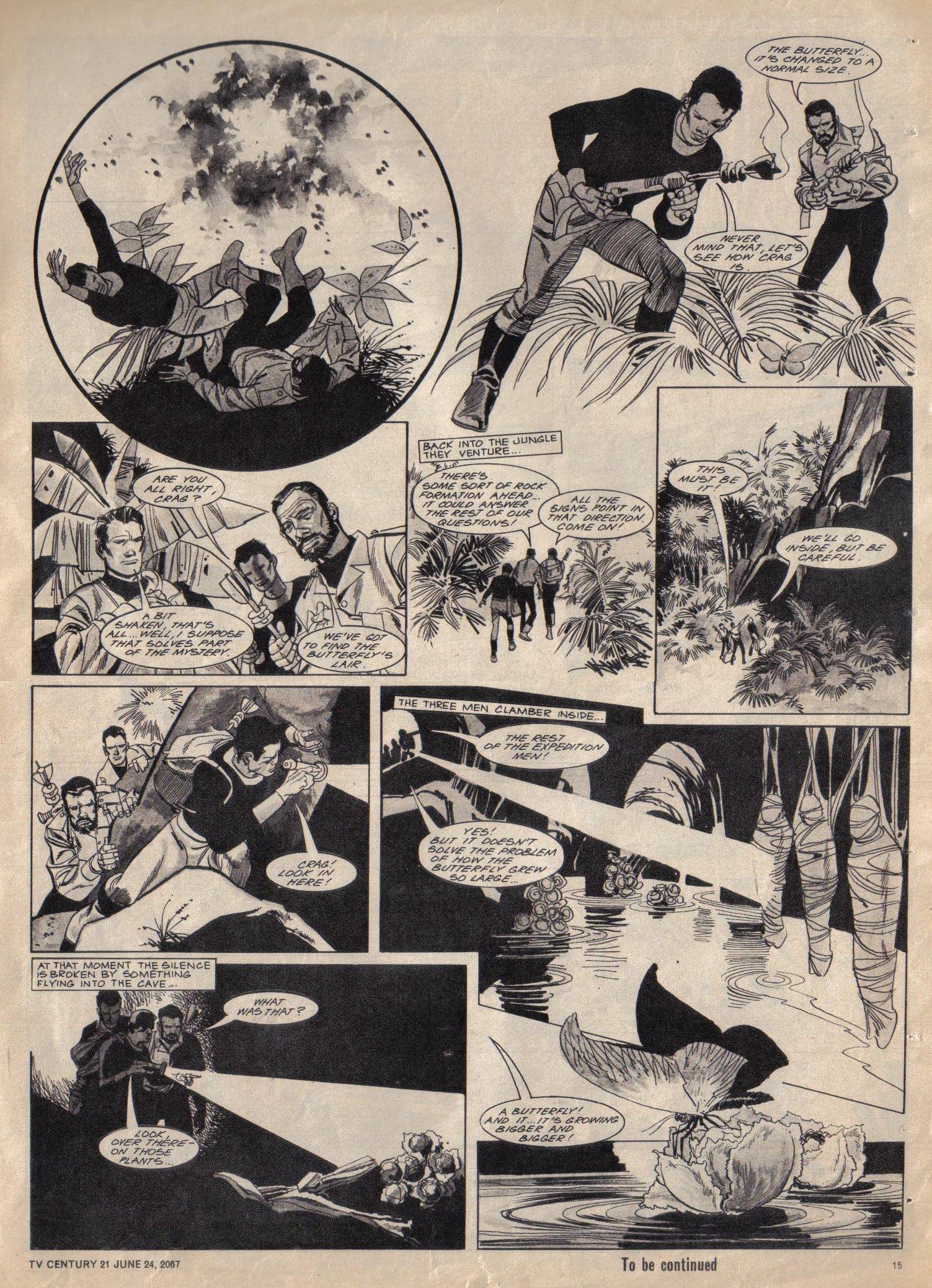 Read online TV Century 21 (TV 21) comic -  Issue #127 - 14