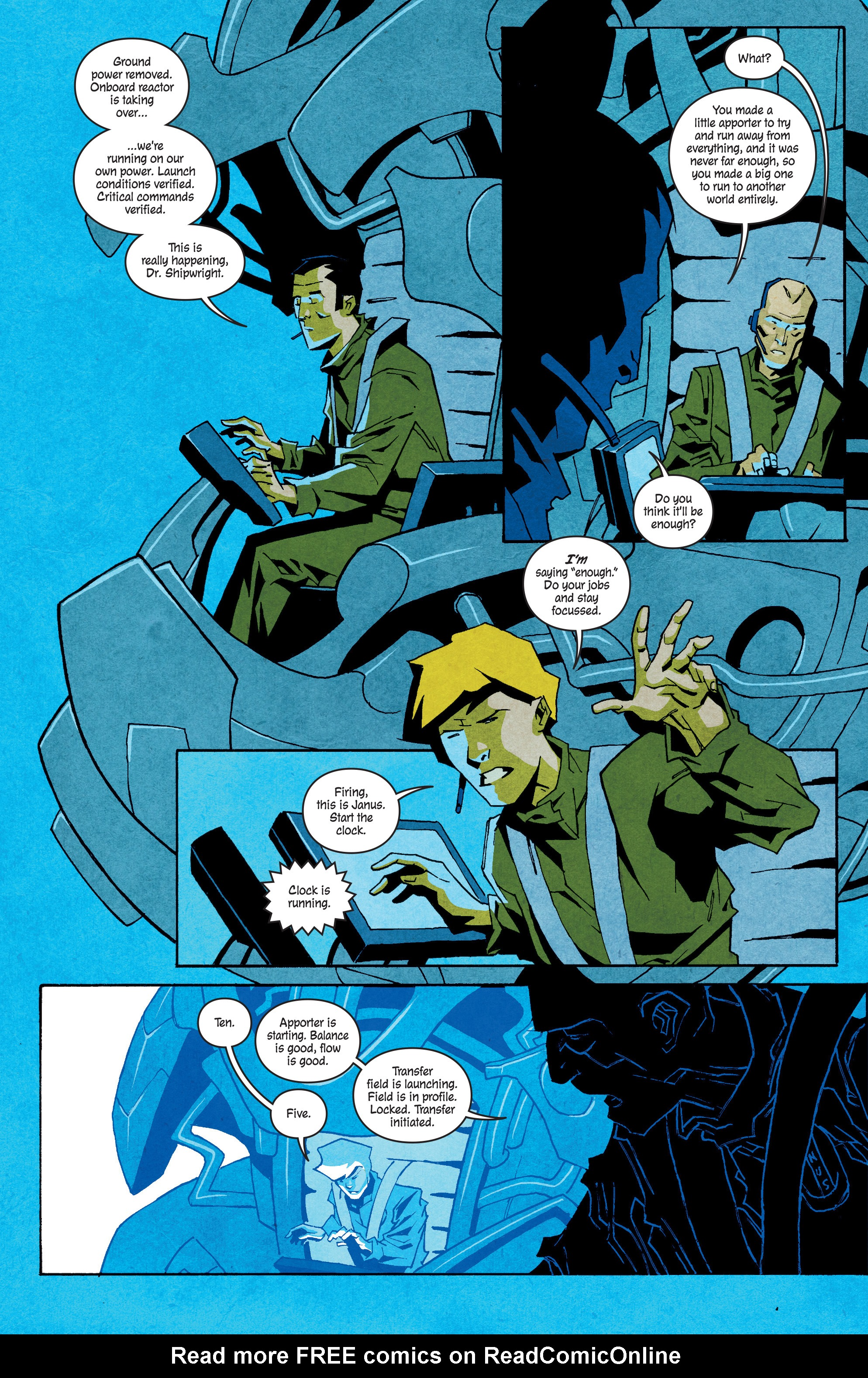 Read online Shipwreck comic -  Issue #4 - 20