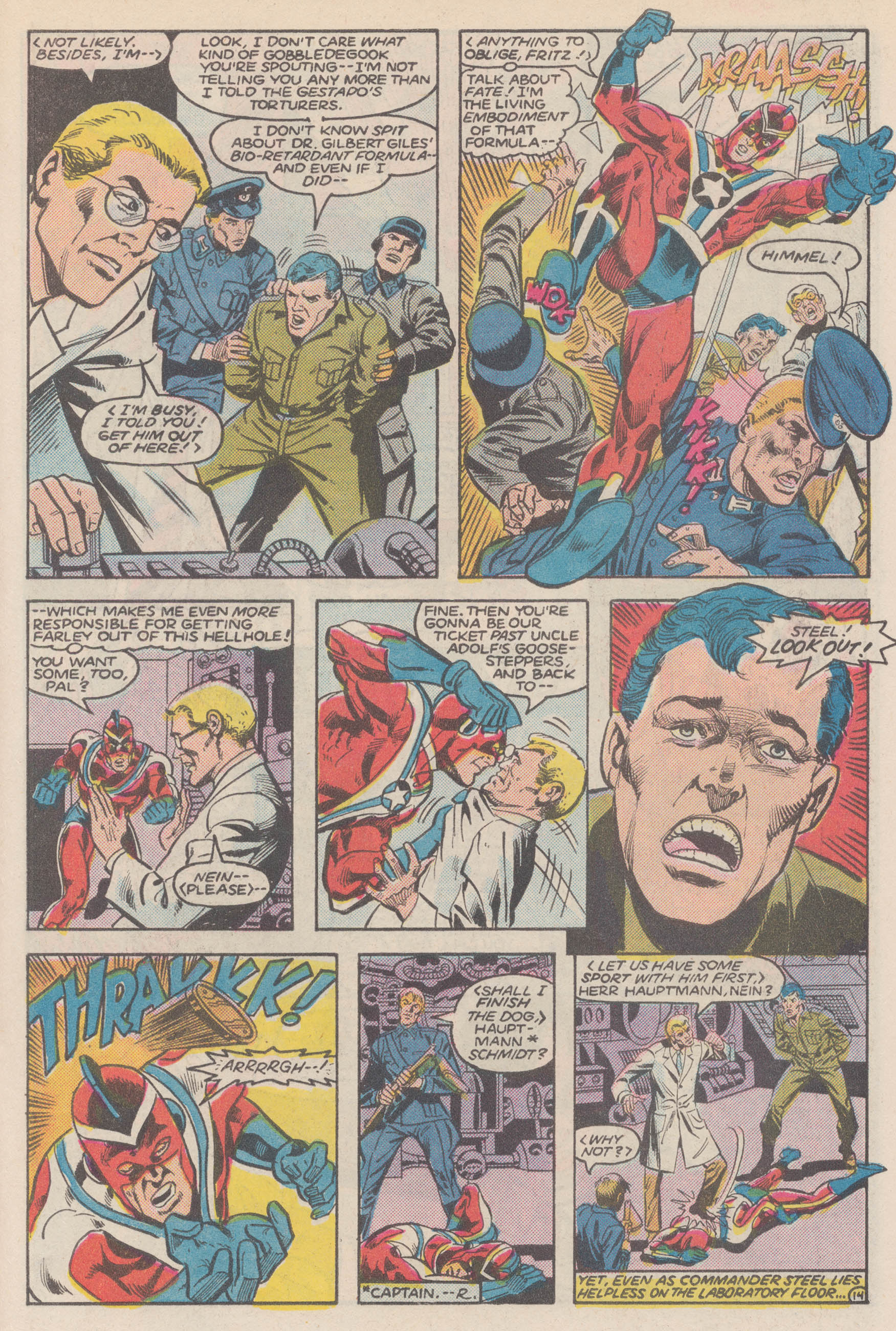 Read online All-Star Squadron comic -  Issue #50 - 19