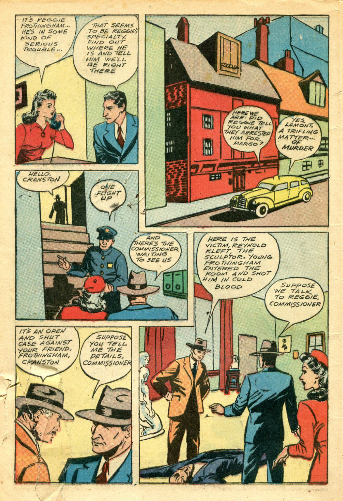 Read online Shadow Comics comic -  Issue #44 - 3