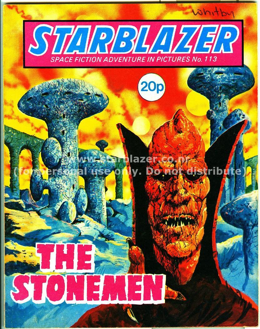 Starblazer issue 113 - Page 1