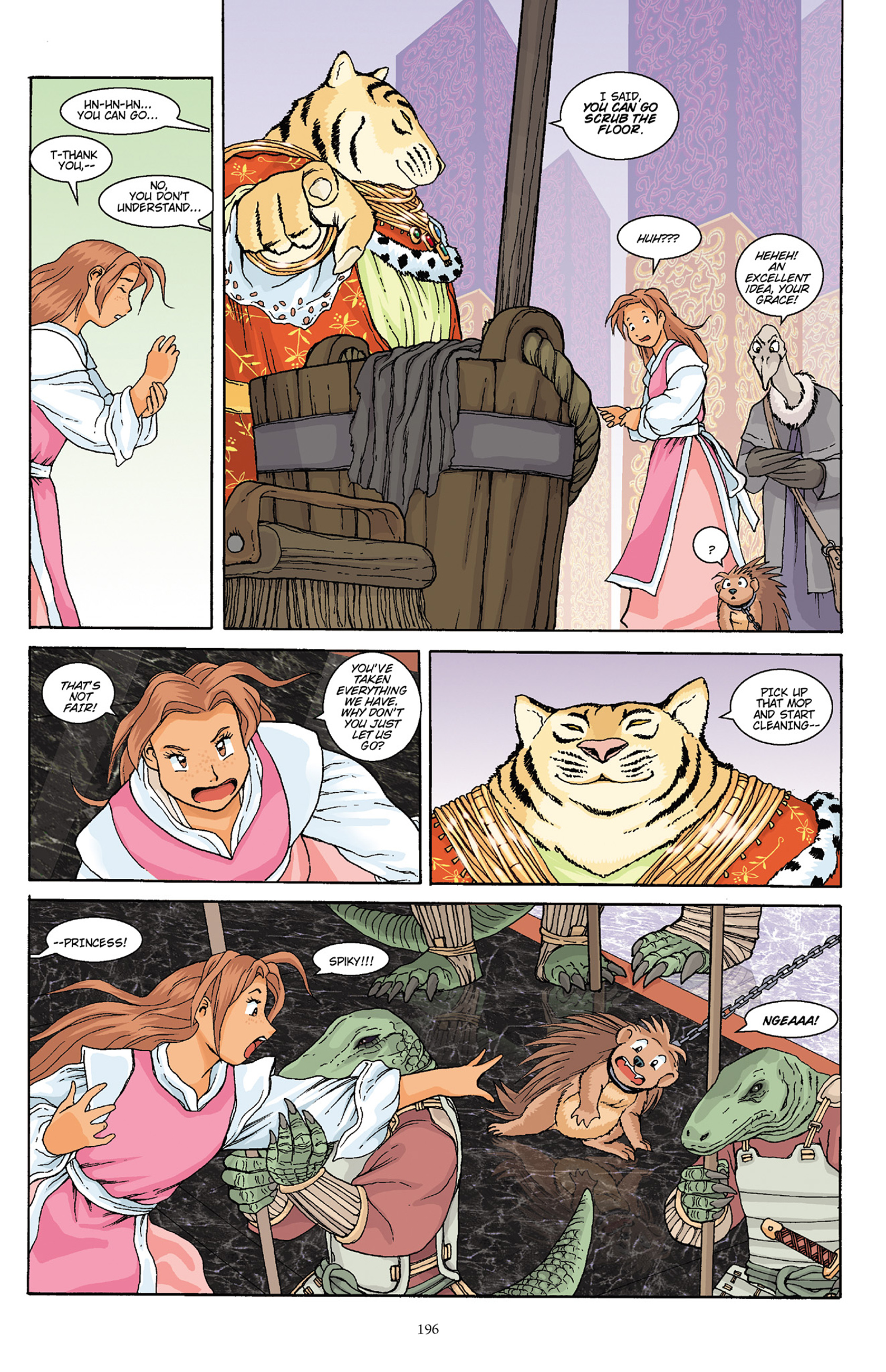 Read online Courageous Princess comic -  Issue # TPB 1 - 193