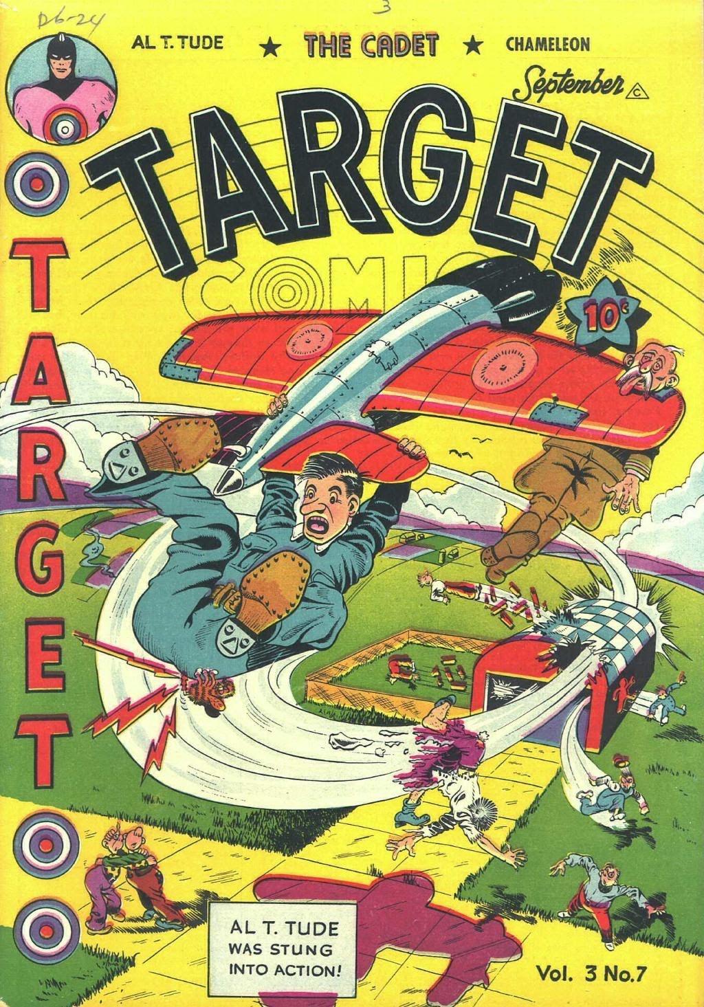 Target Comics 31 Page 1