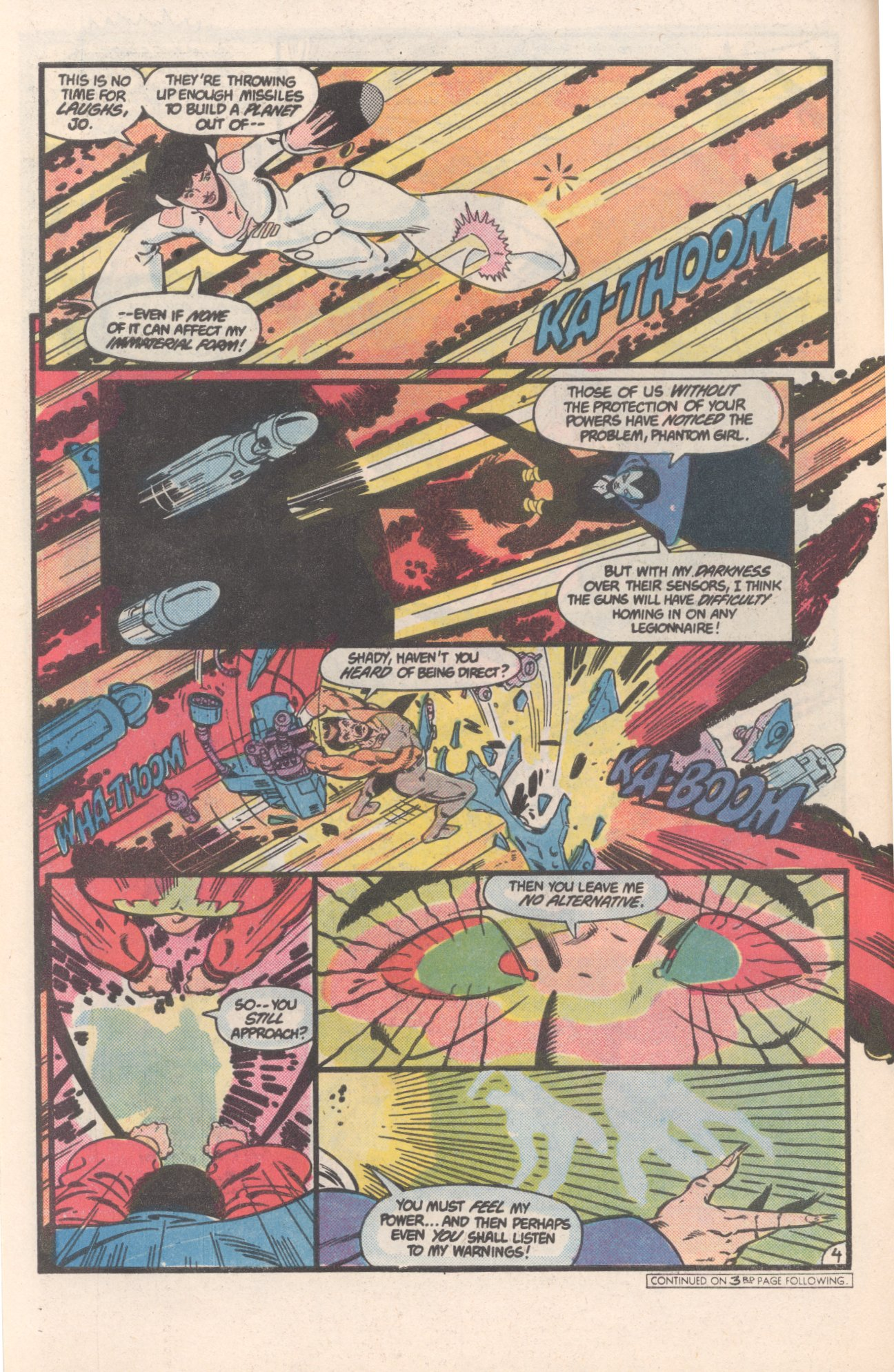 Legion of Super-Heroes (1980) 308 Page 4