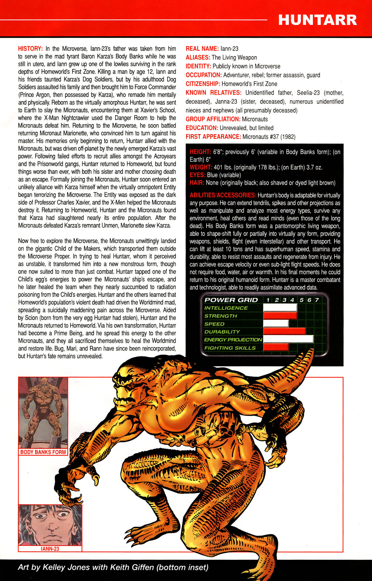 Read online All-New Official Handbook of the Marvel Universe A to Z: Update comic -  Issue #1 - 20