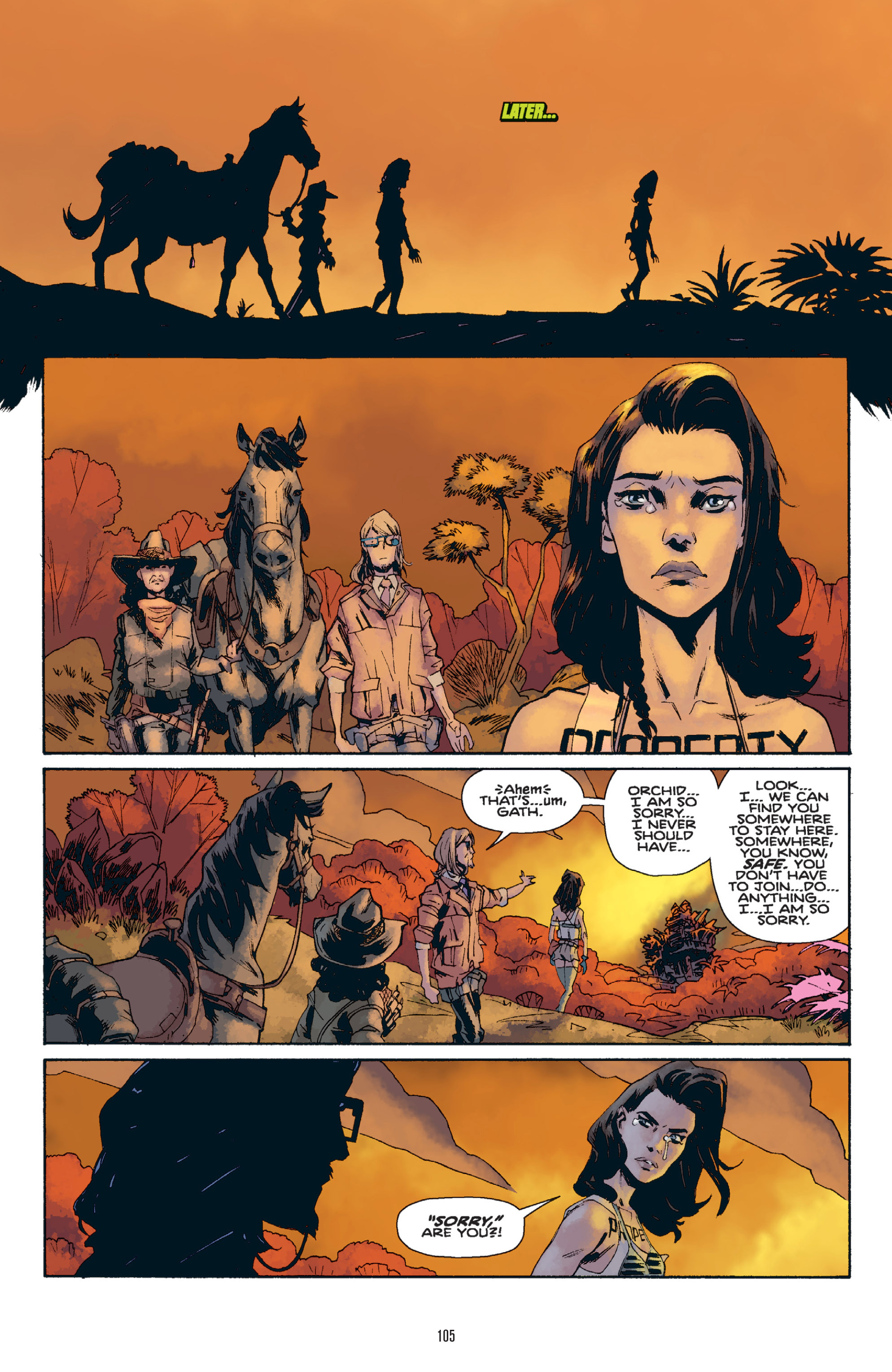 Read online Orchid comic -  Issue # TPB 1 - 104