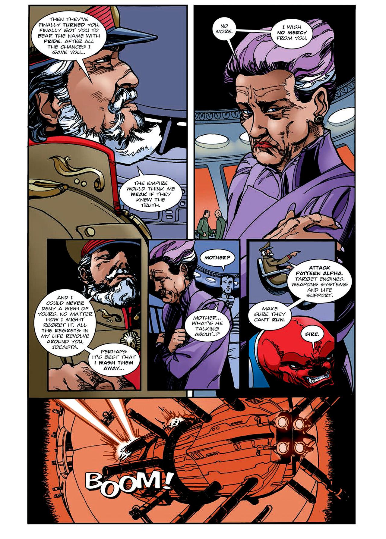 Read online Nikolai Dante comic -  Issue # TPB 4 - 135