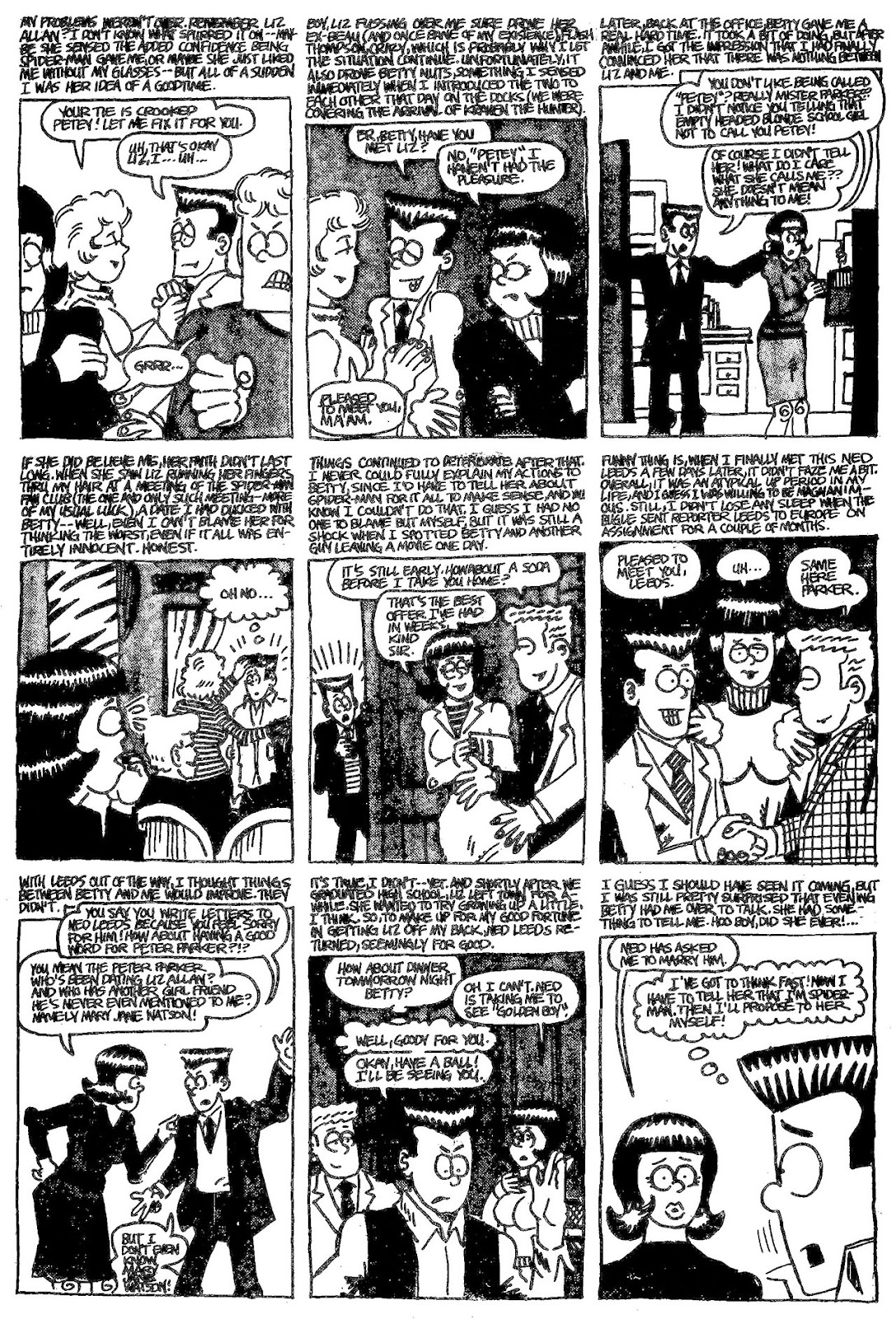 Read online The Nearly Complete Essential Hembeck Archives Omnibus comic -  Issue # TPB (Part 4) - 93