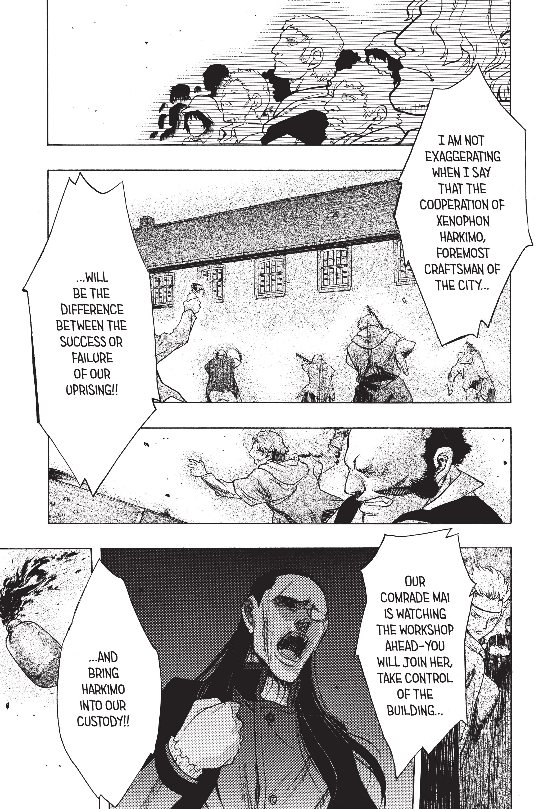 Read online Attack on Titan: Before the Fall comic -  Issue #8 - 69