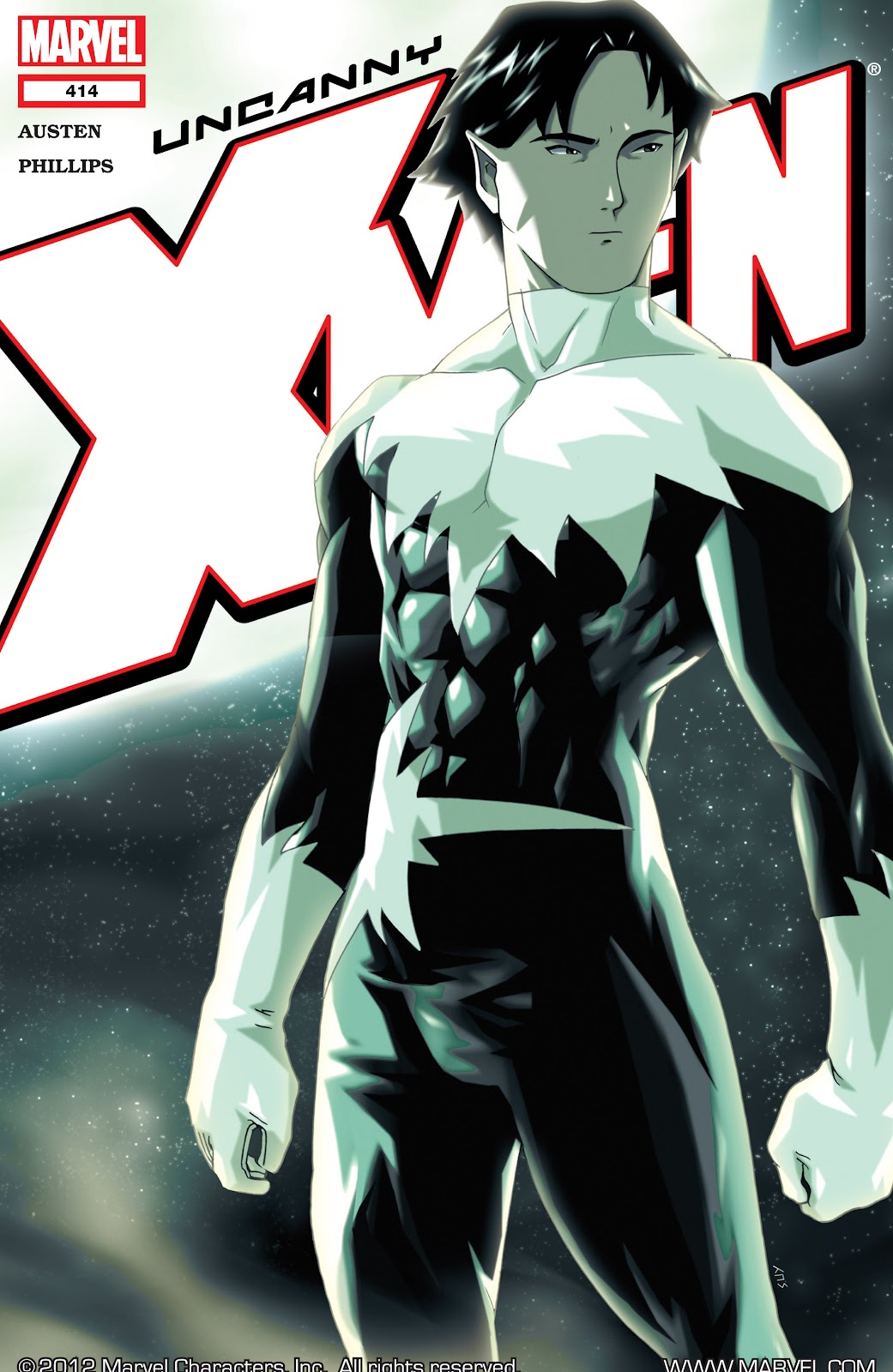 Uncanny X-Men (1963) 414 Page 1